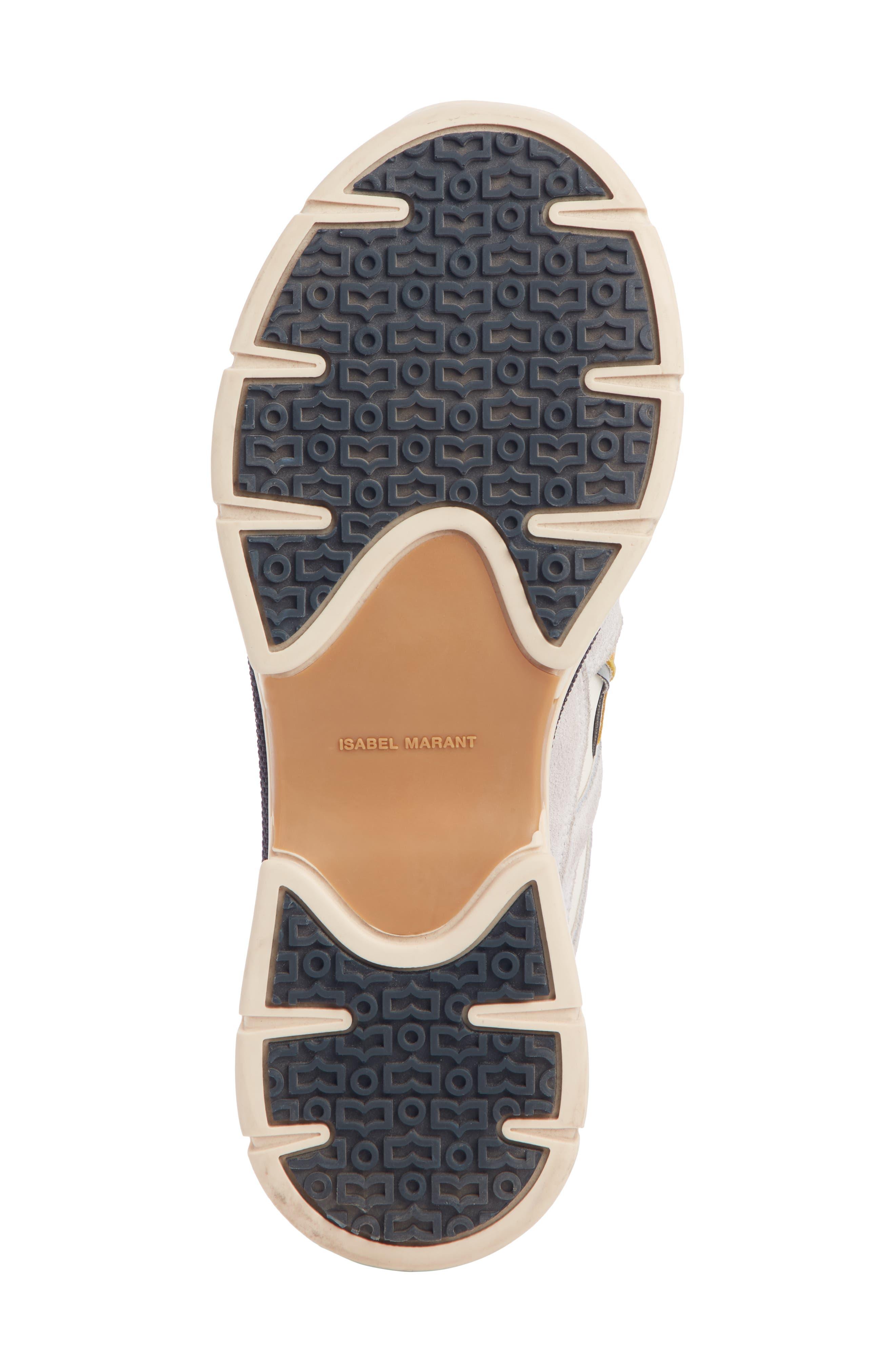 Kindsay Lace-Up Sneaker,                             Alternate thumbnail 5, color,                             WHITE