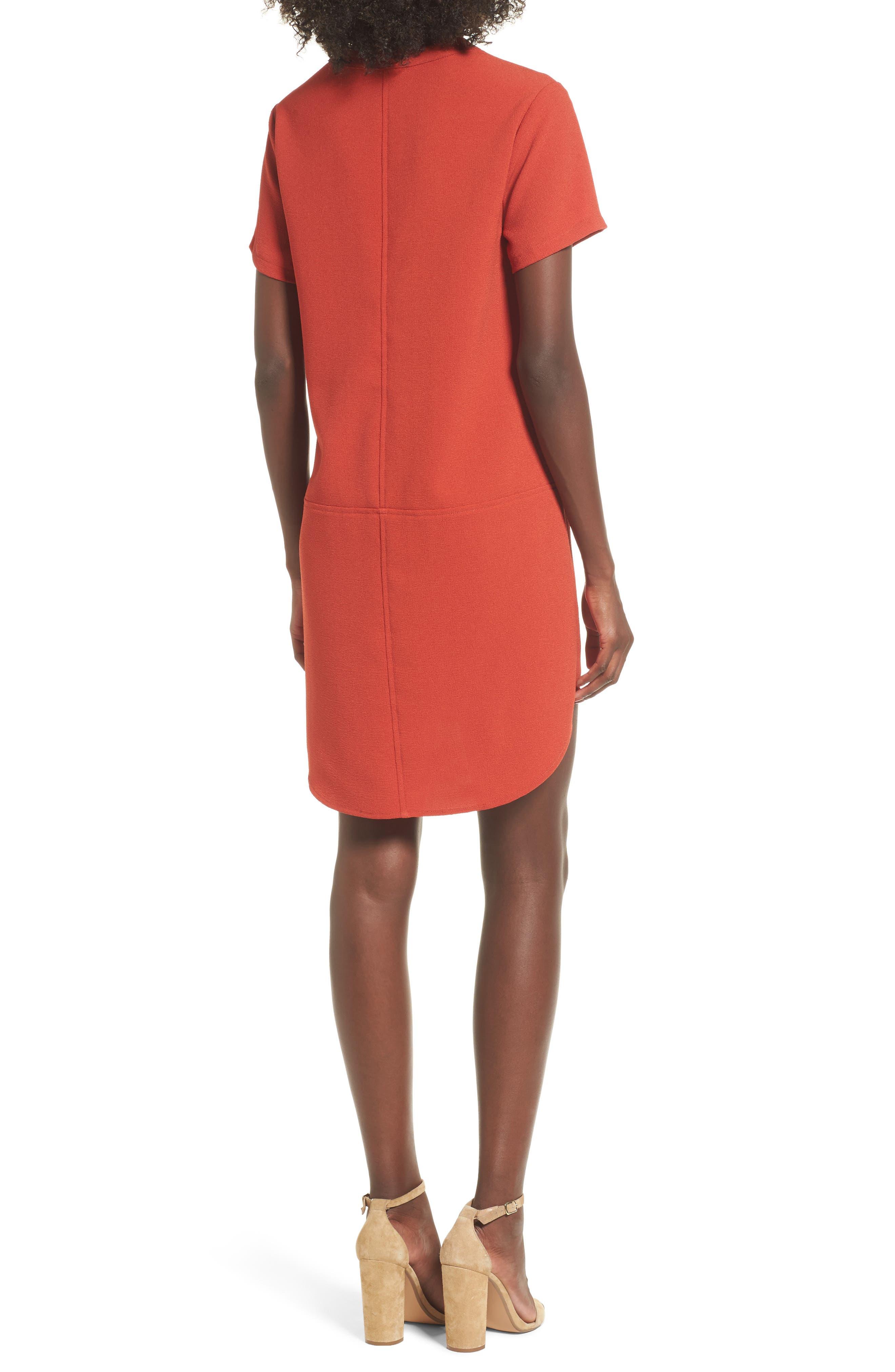 Hailey Crepe Dress,                             Alternate thumbnail 33, color,
