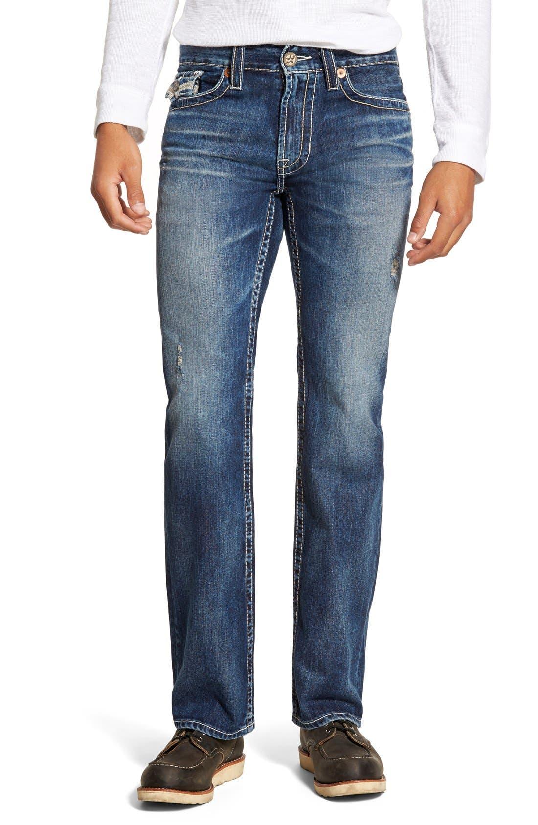 'Union' Straight Leg Jeans,                             Main thumbnail 1, color,                             423