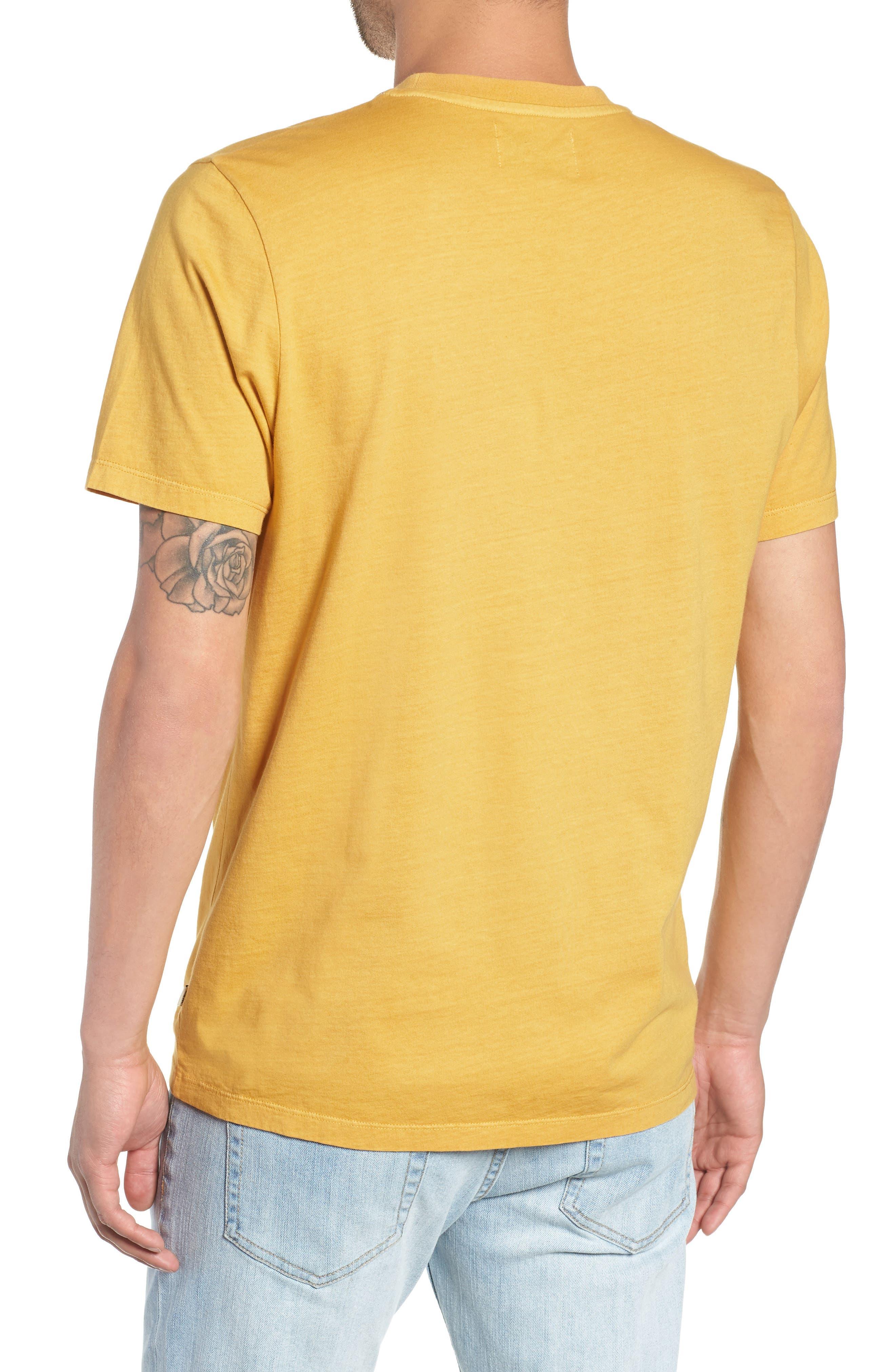 Reid T-Shirt,                             Alternate thumbnail 2, color,                             LEMON