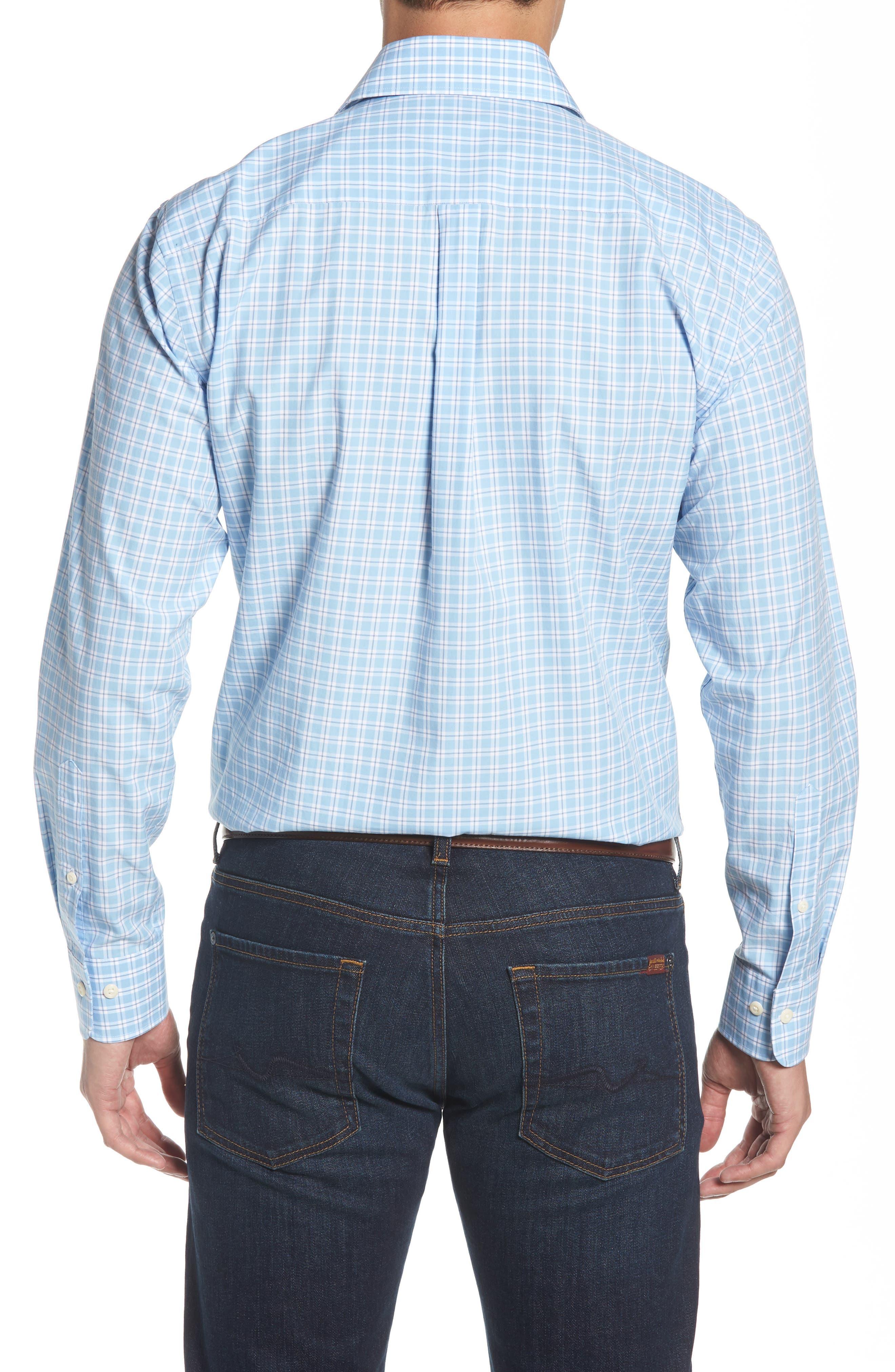 Ballard Regular Fit Check Sport Shirt,                             Alternate thumbnail 2, color,                             400