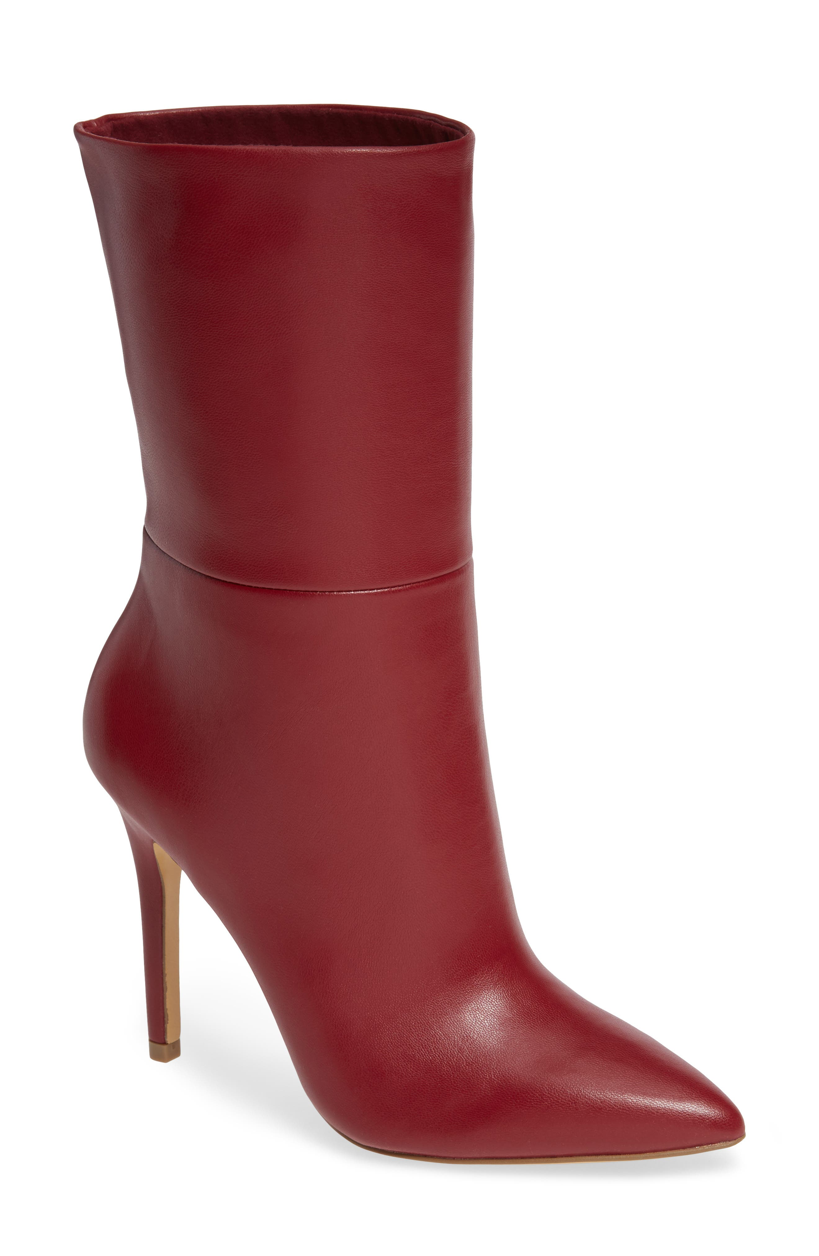 Charles By Charles David Palisades Bootie- Red
