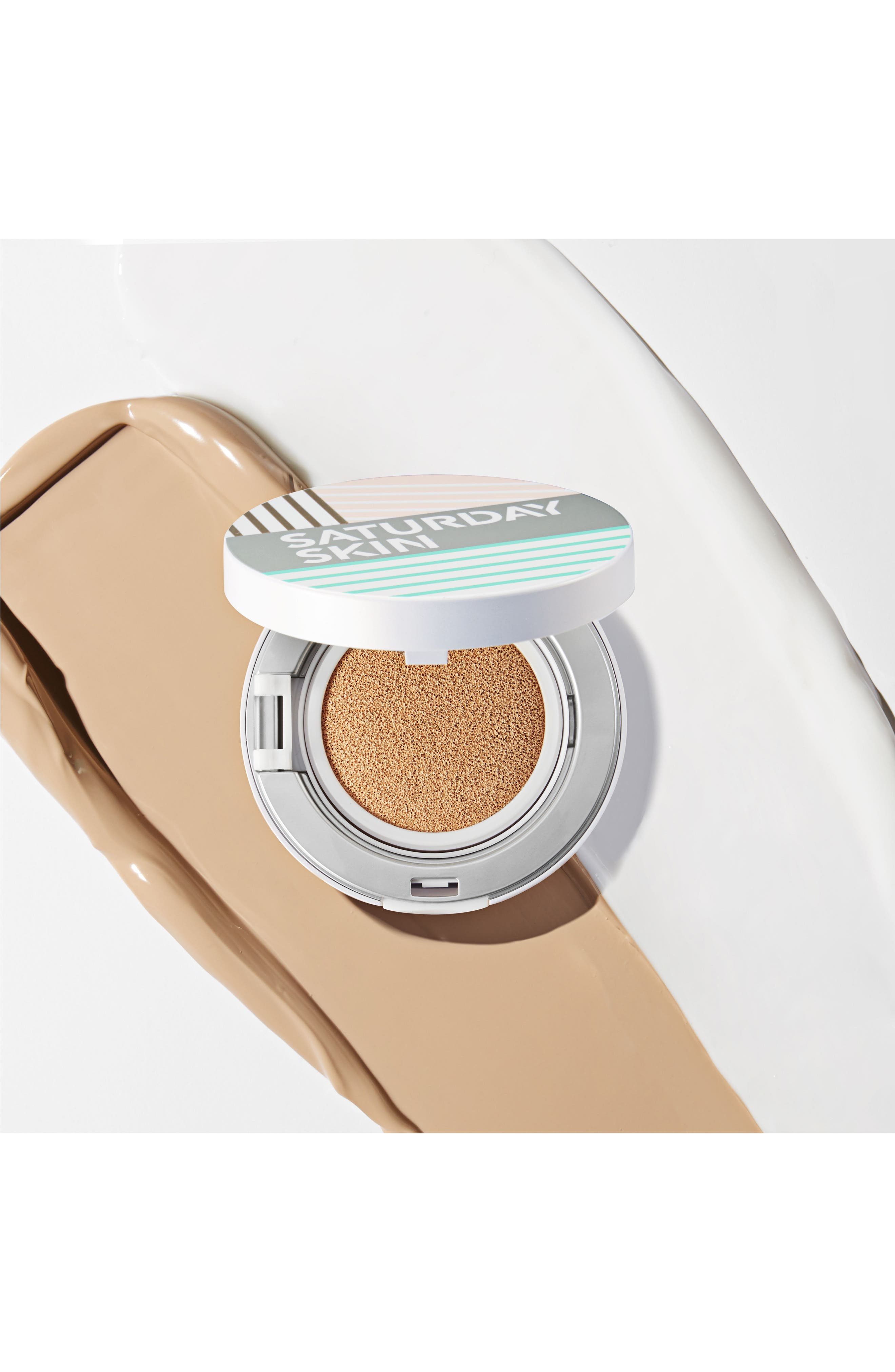 All Aglow Sunscreen Perfection Cushion Compact SPF 50,                             Alternate thumbnail 6, color,                             02 CHAMPAGNE