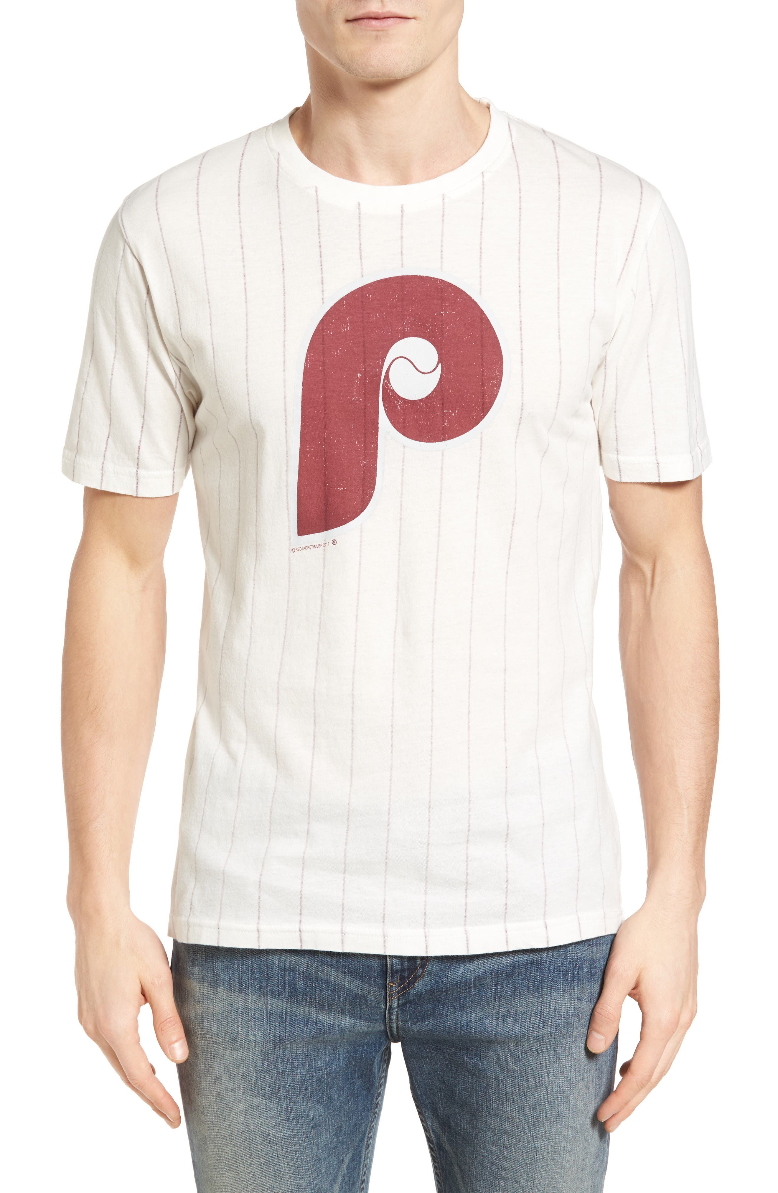 Brass Tack Philadelphia Phillies T-Shirt,                         Main,                         color, 182