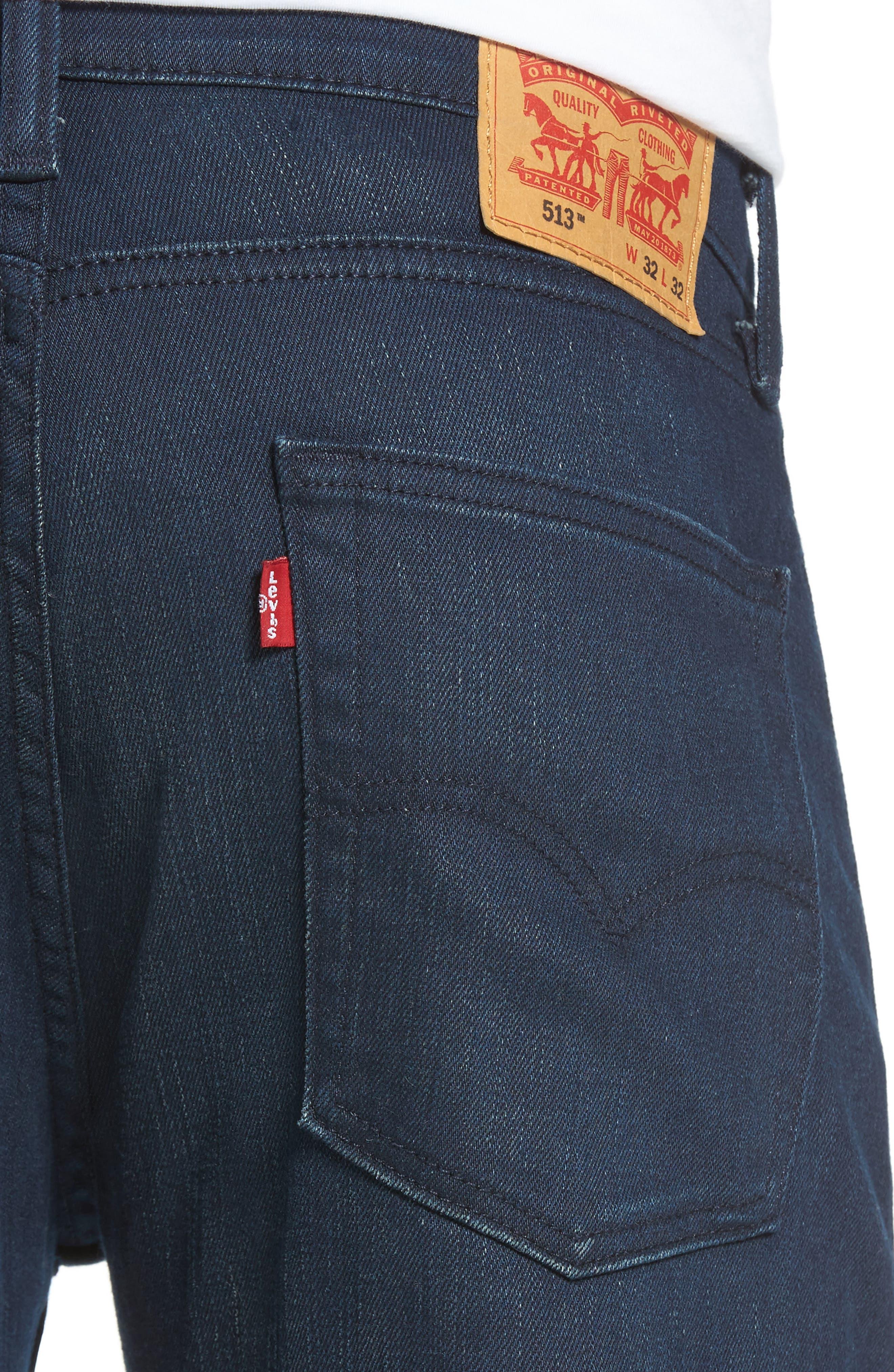 513<sup>™</sup> Slim Straight Leg Jeans,                             Alternate thumbnail 4, color,