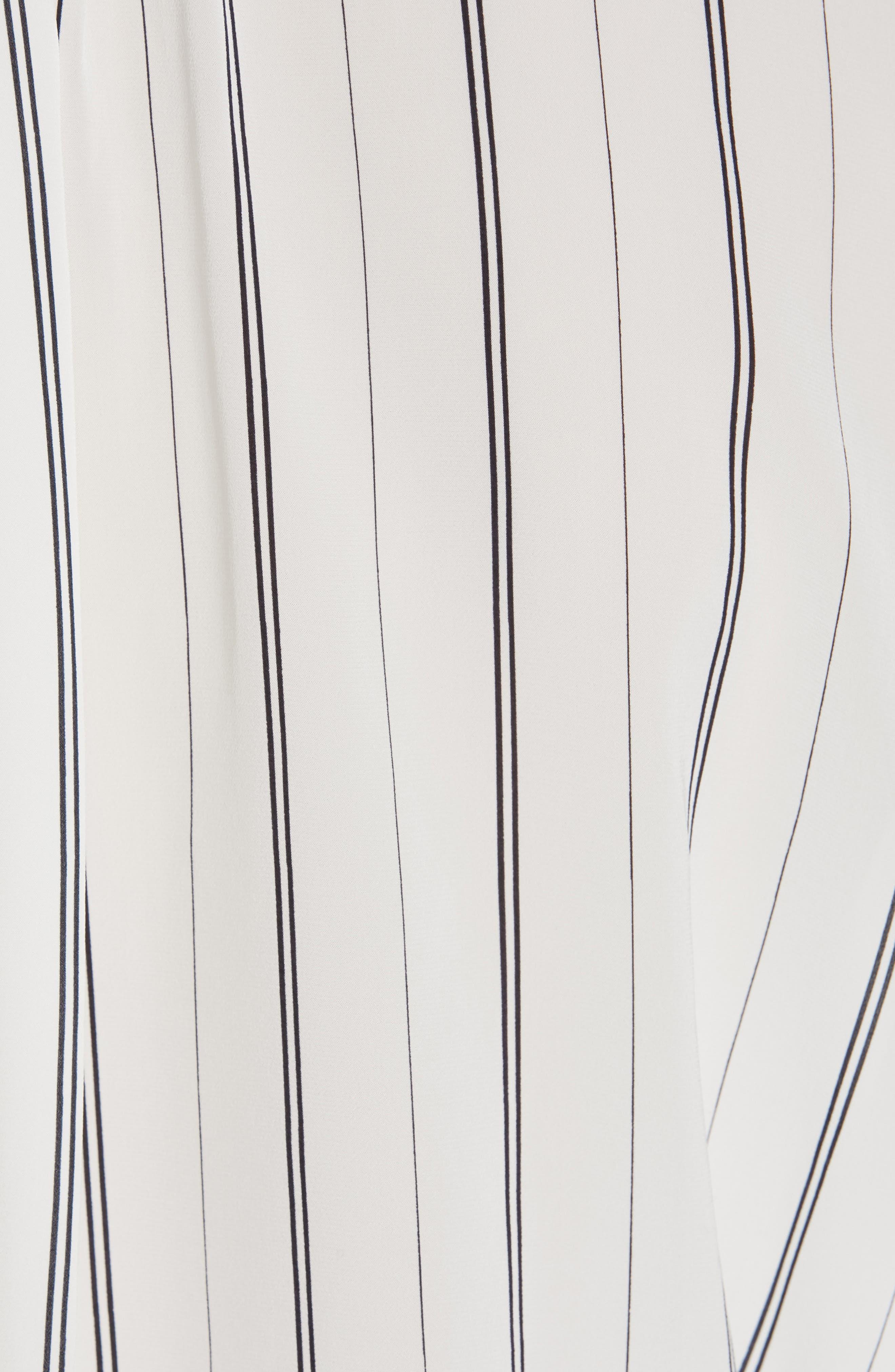 Toril Stripe Blouse,                             Alternate thumbnail 5, color,                             PORCELAIN