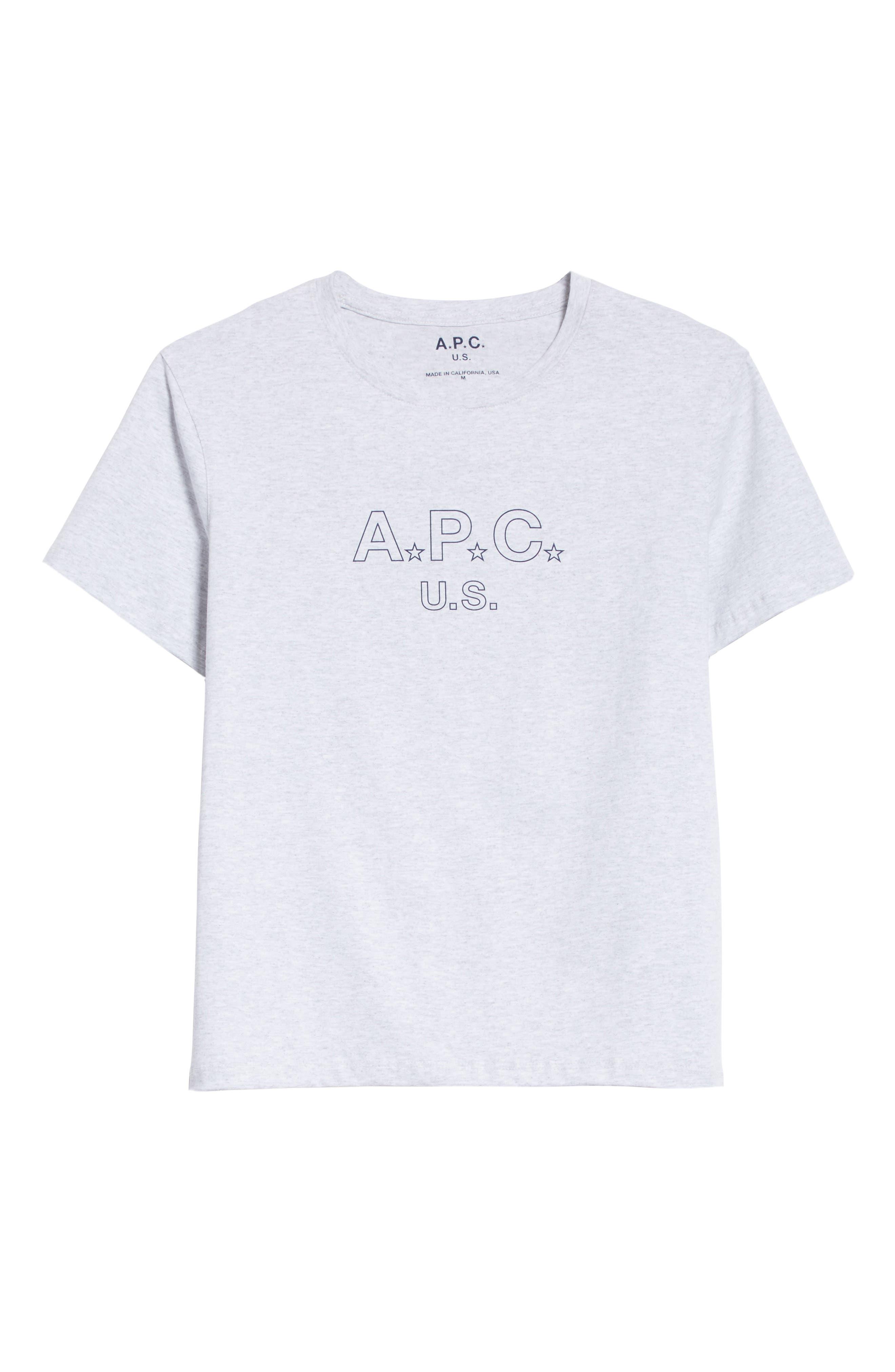 U.S Logo T-Shirt,                             Alternate thumbnail 6, color,                             063