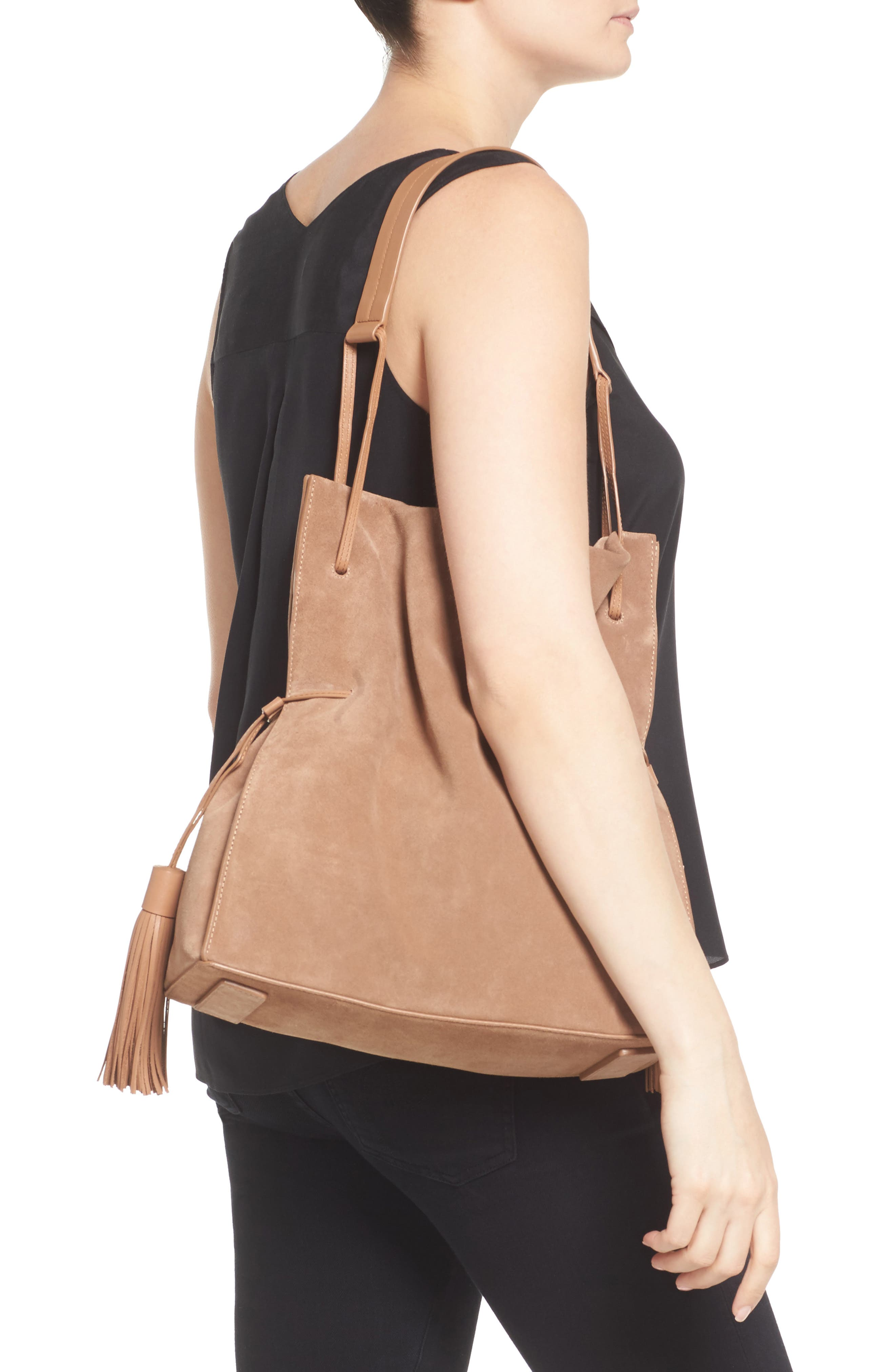 Freedom Suede Hobo,                             Alternate thumbnail 11, color,
