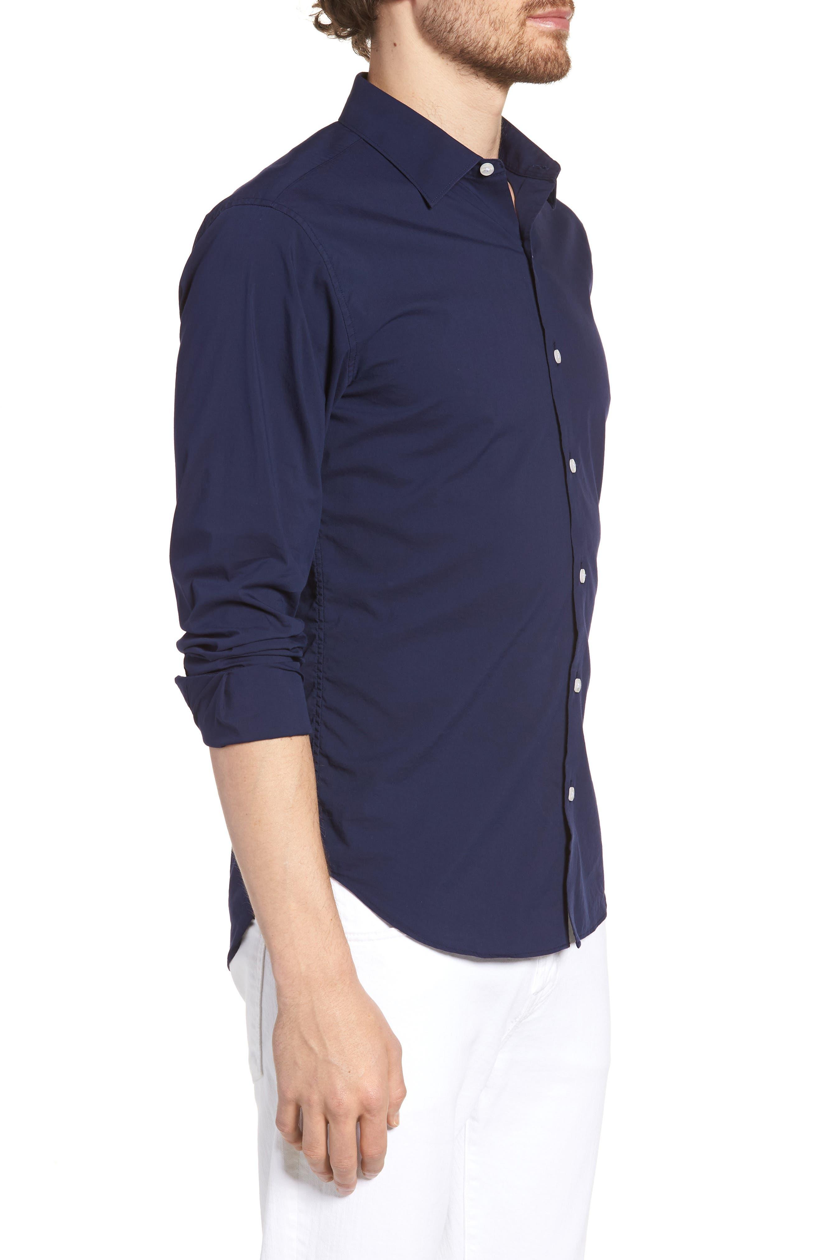 Unbutton Down 2.0 Slim Fit Sport Shirt,                             Alternate thumbnail 12, color,