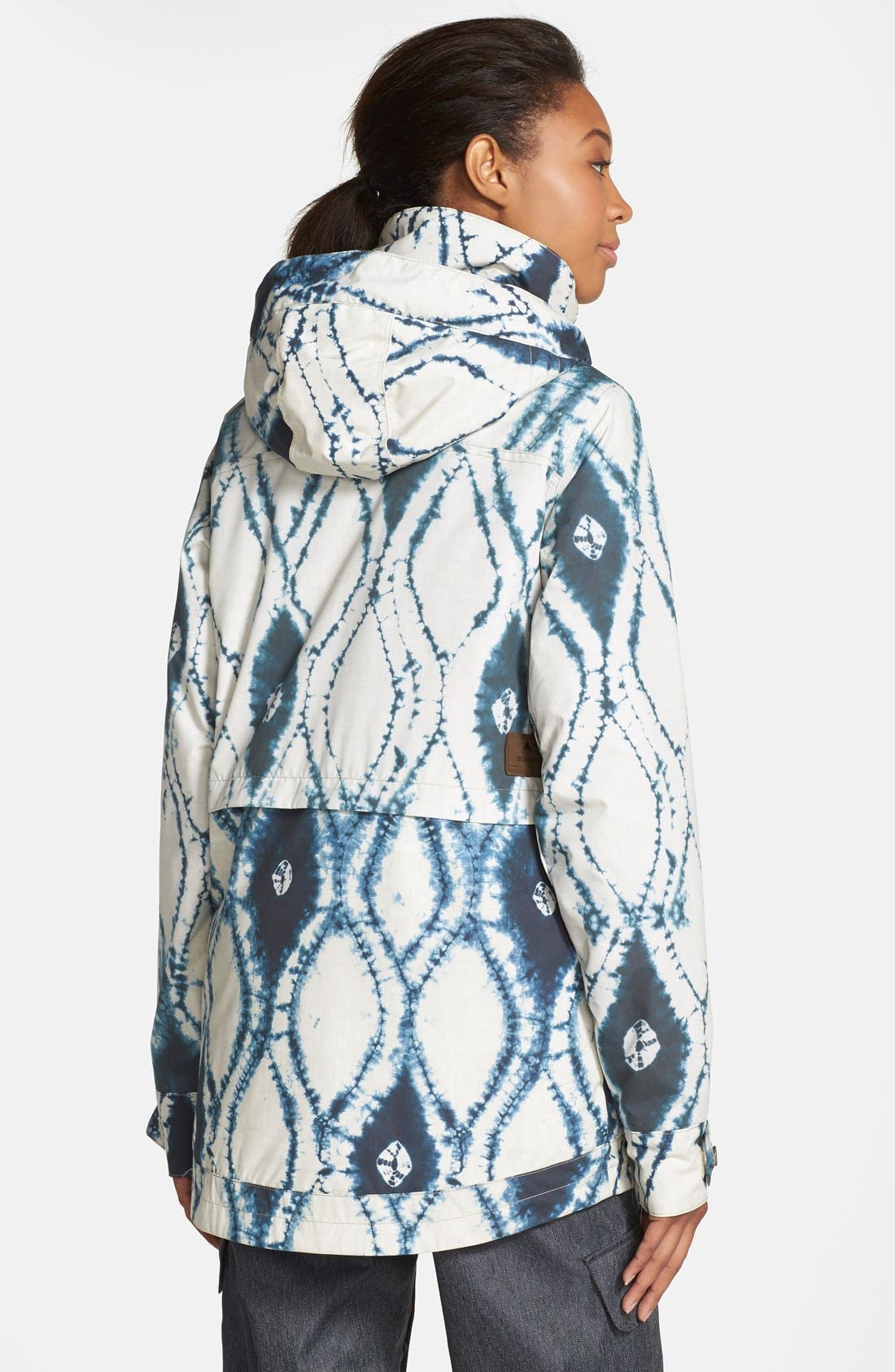 'Fremont' Tie Dye Waterproof Jacket,                             Alternate thumbnail 2, color,                             921
