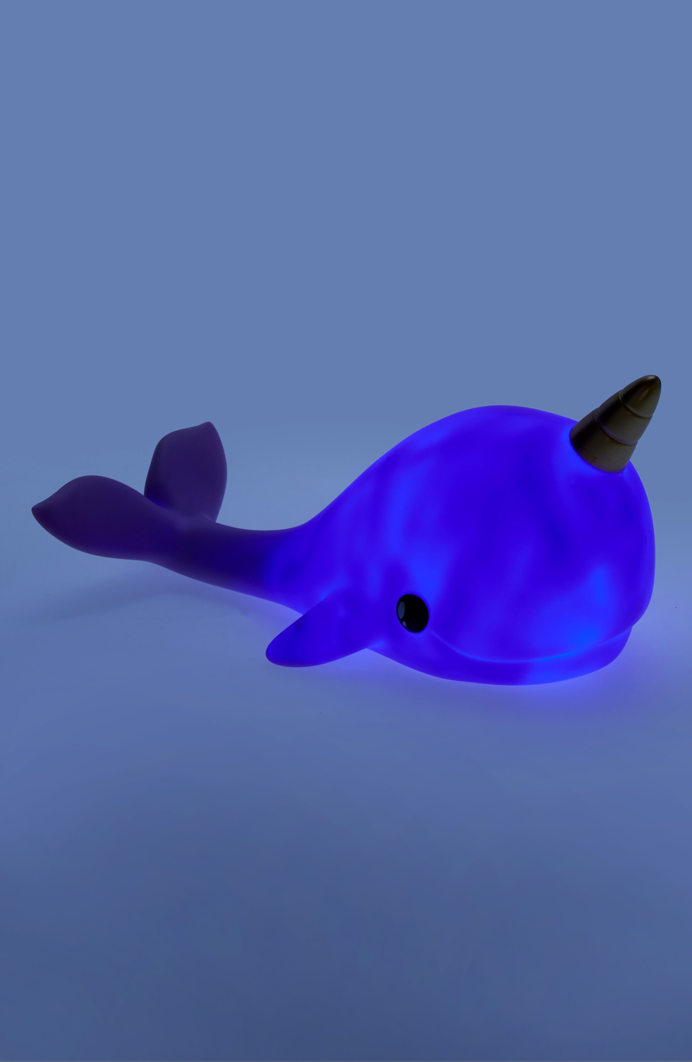Narwhal Color Changing Night Light,                             Alternate thumbnail 2, color,                             PURPLE