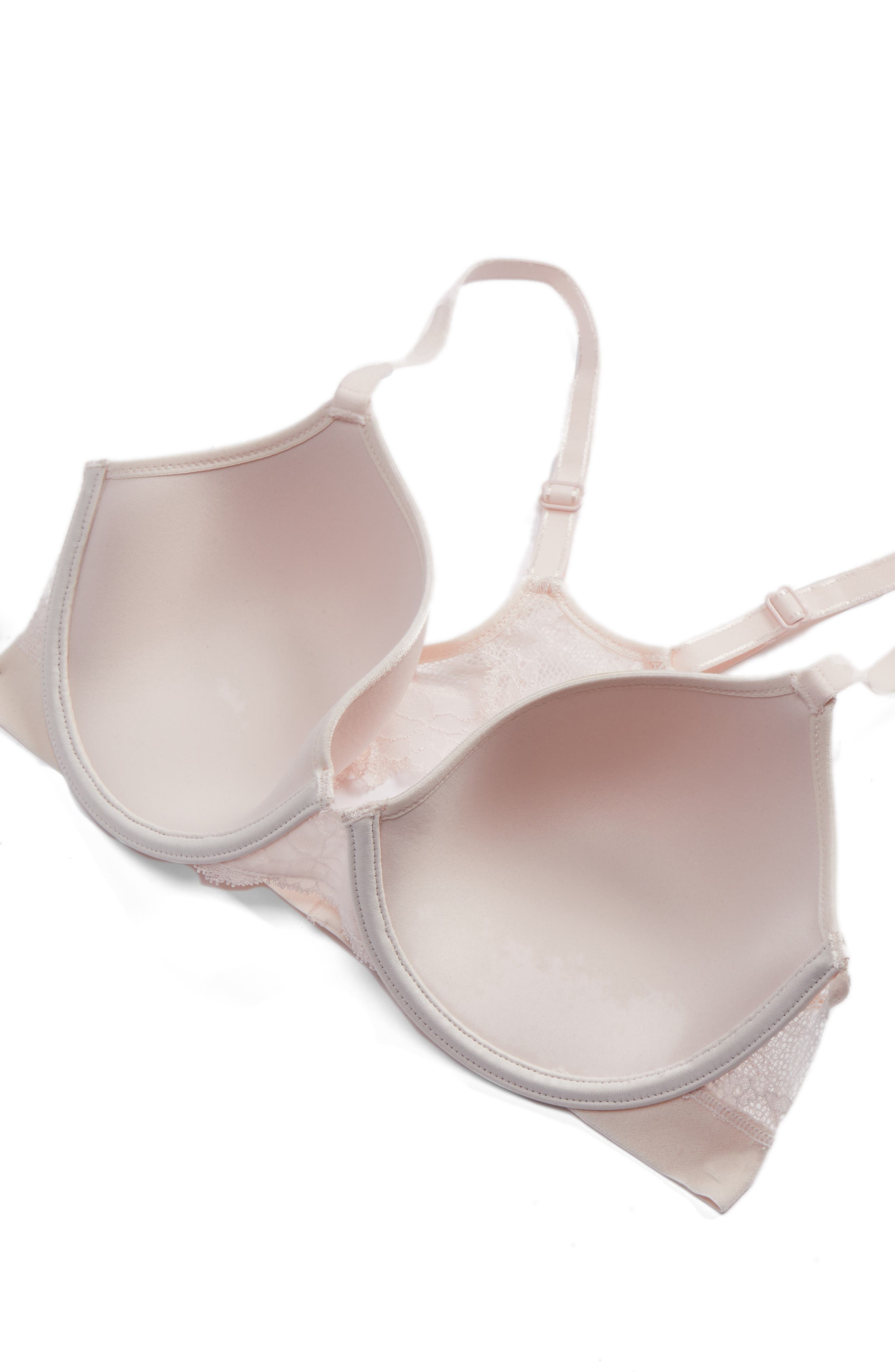 Everyday Lace Underwire Bra,                             Alternate thumbnail 4, color,                             650