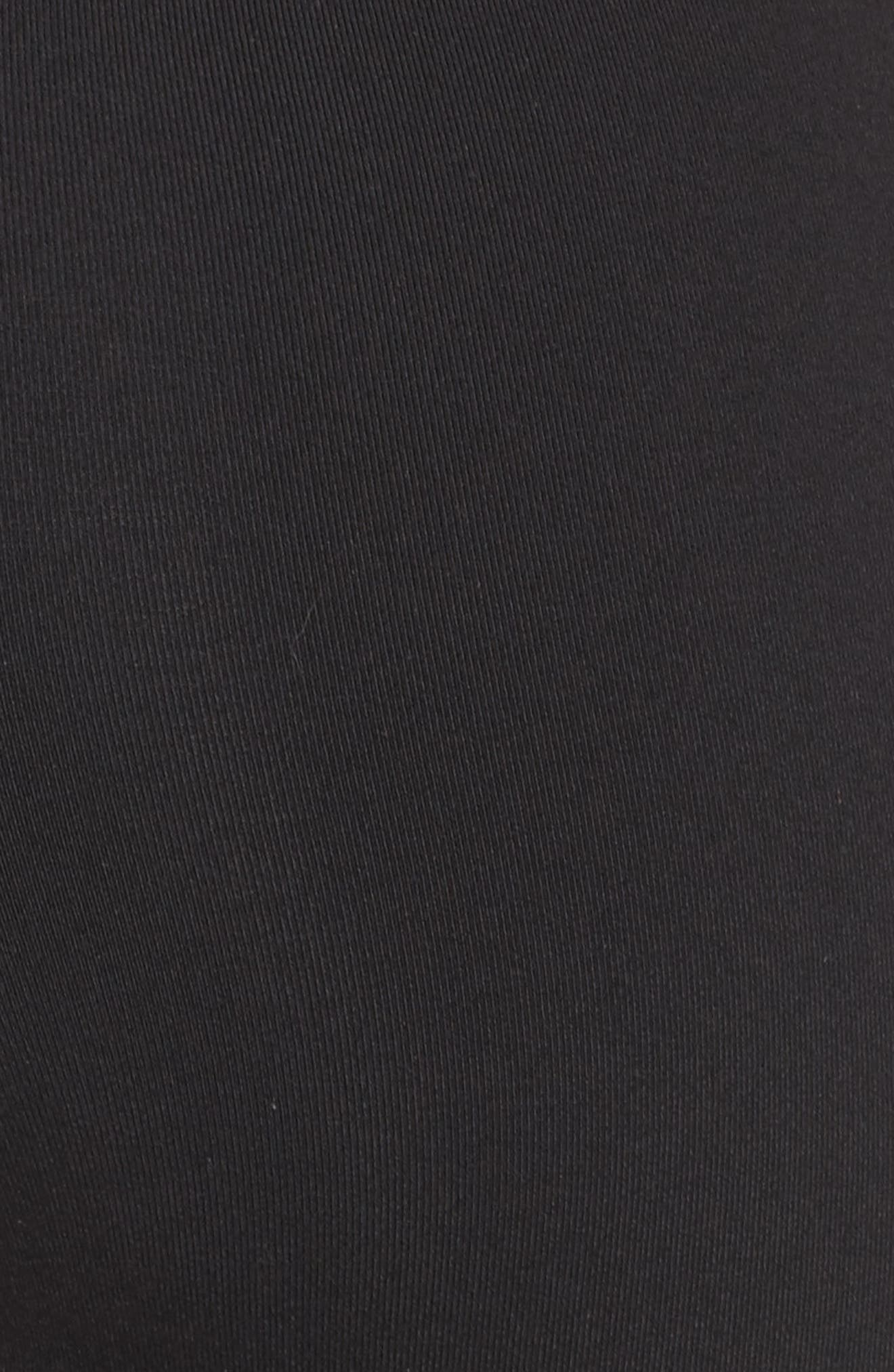 Ultimate High Waist Leggings,                             Alternate thumbnail 6, color,                             BLACK