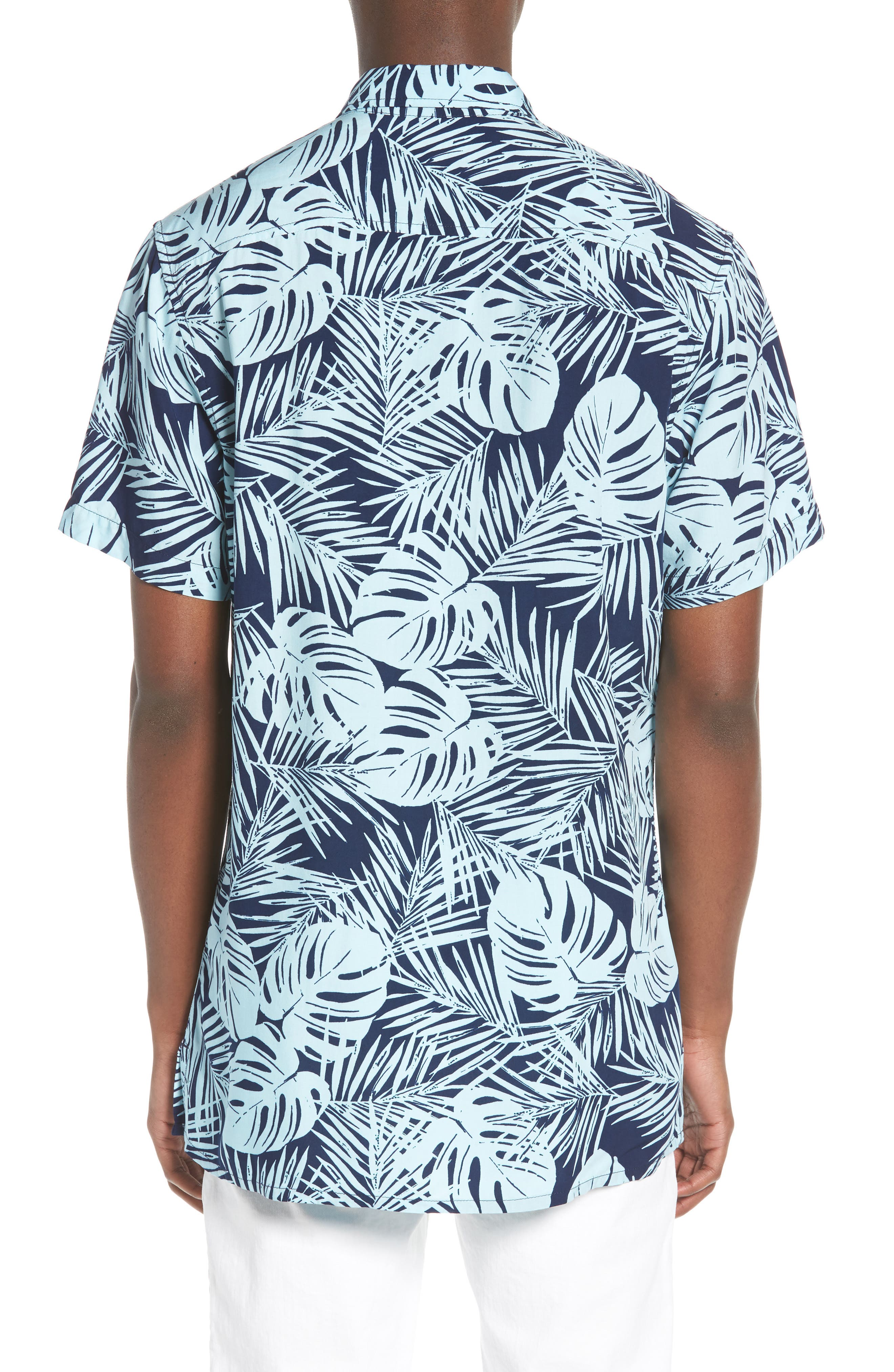 Print Woven Shirt,                             Alternate thumbnail 6, color,