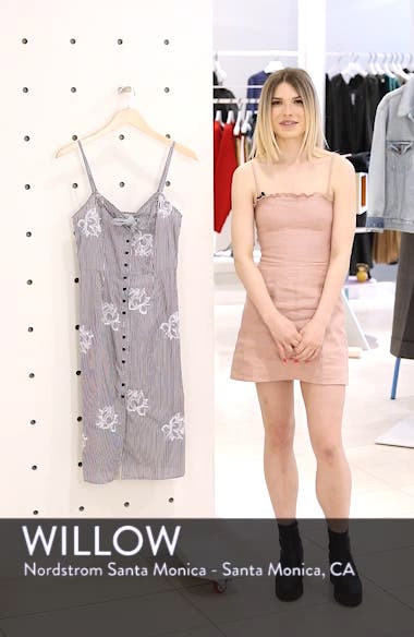 Meet Me at the Pink Wall Stripe Sundress, sales video thumbnail