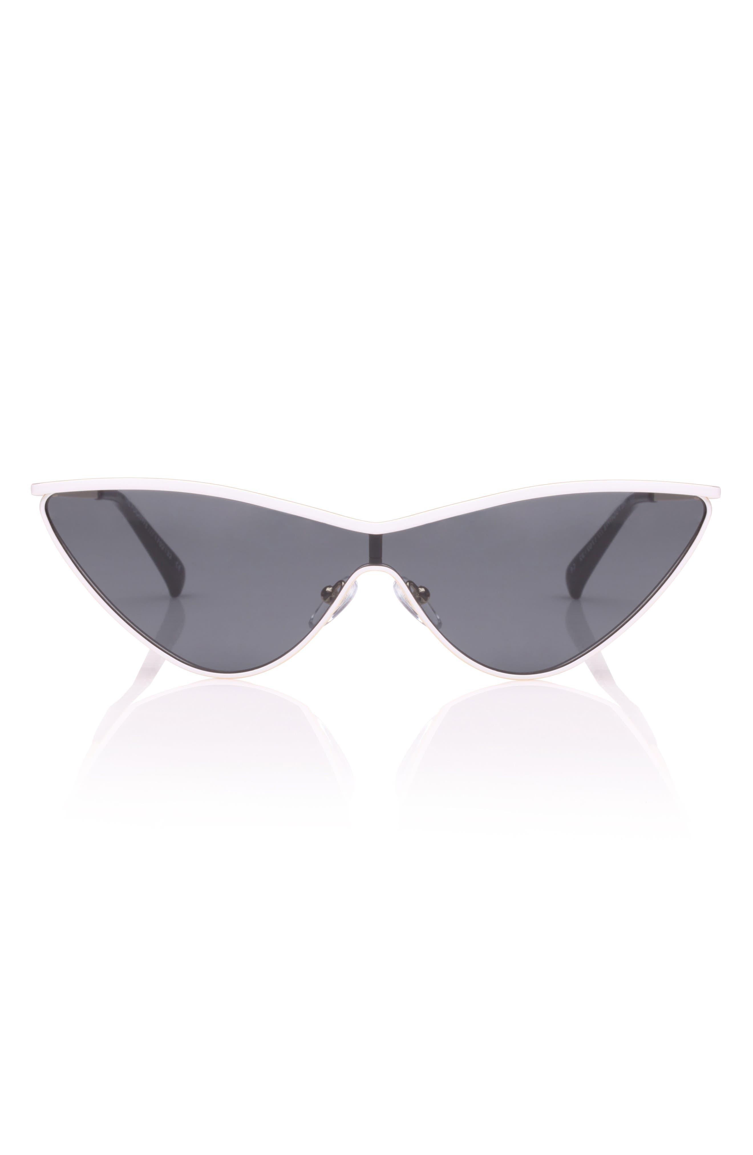 The Fugitive 71mm Sunglasses,                             Alternate thumbnail 2, color,                             WHITE