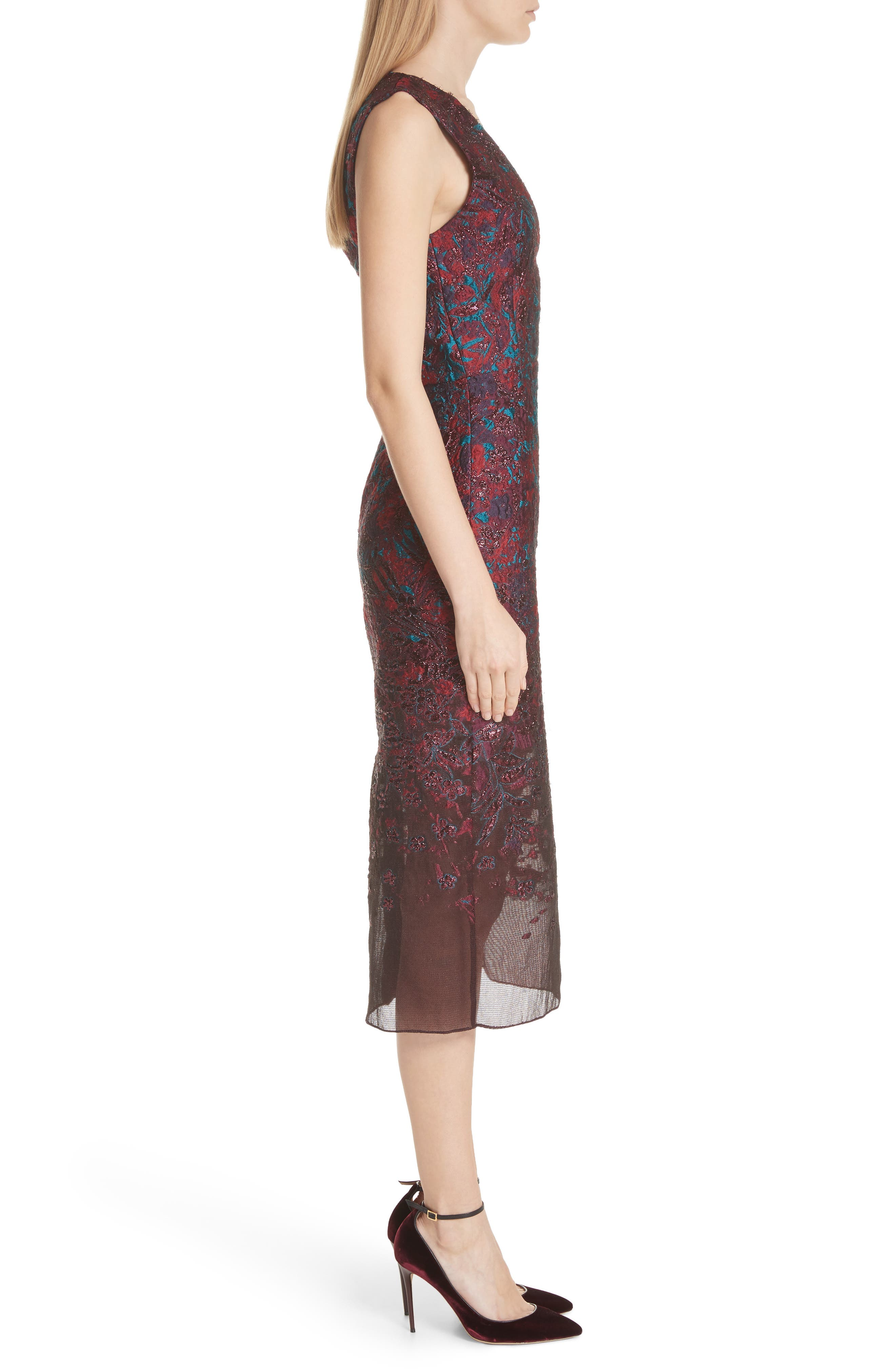 MALENE ODDERSHEDE BACH,                             May Cocktail Dress,                             Alternate thumbnail 3, color,                             600