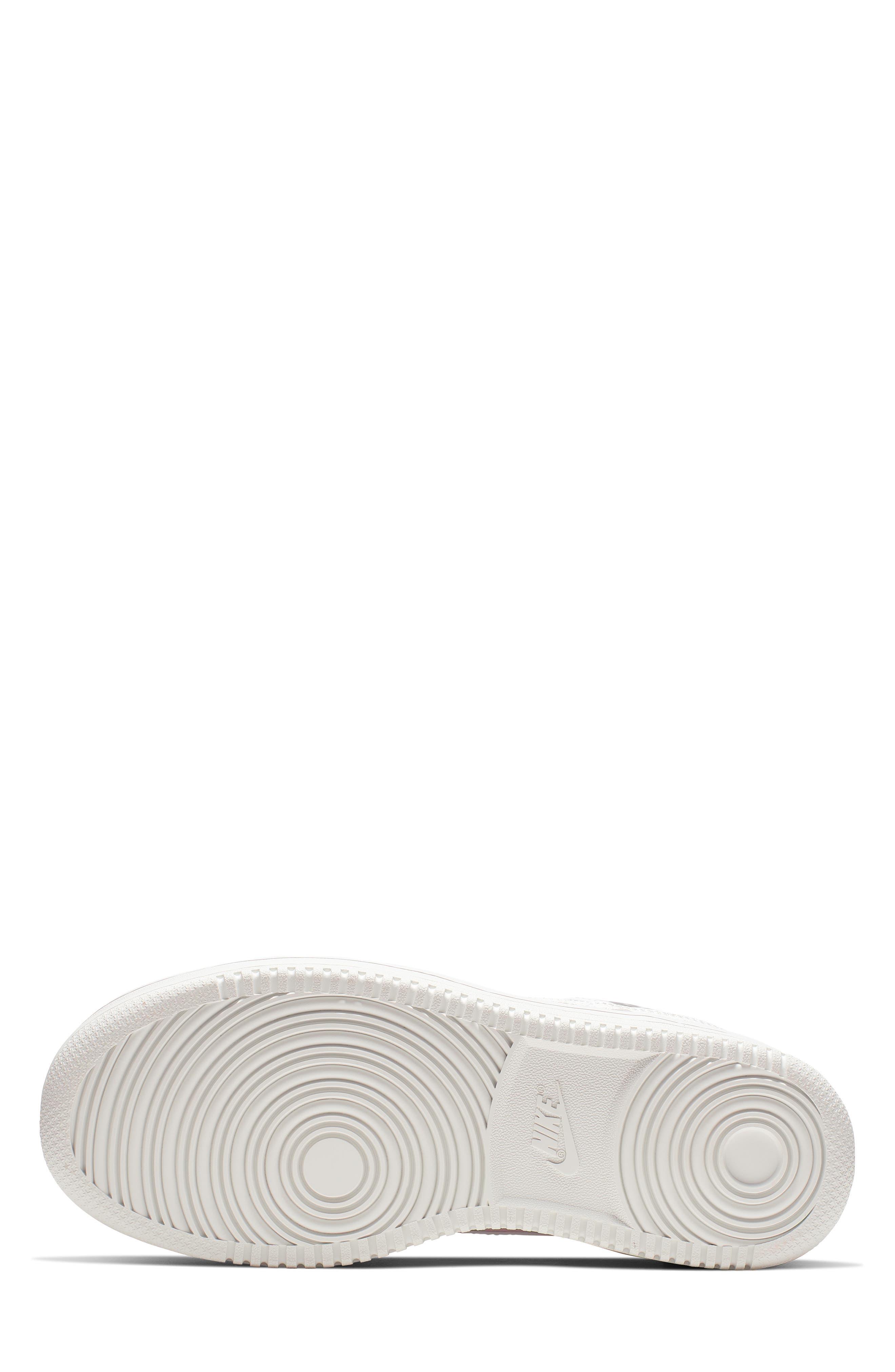 NIKE,                             Vandal 2K LX Platform Sneaker,                             Alternate thumbnail 5, color,                             WHITE/ WHITE/ BLACK