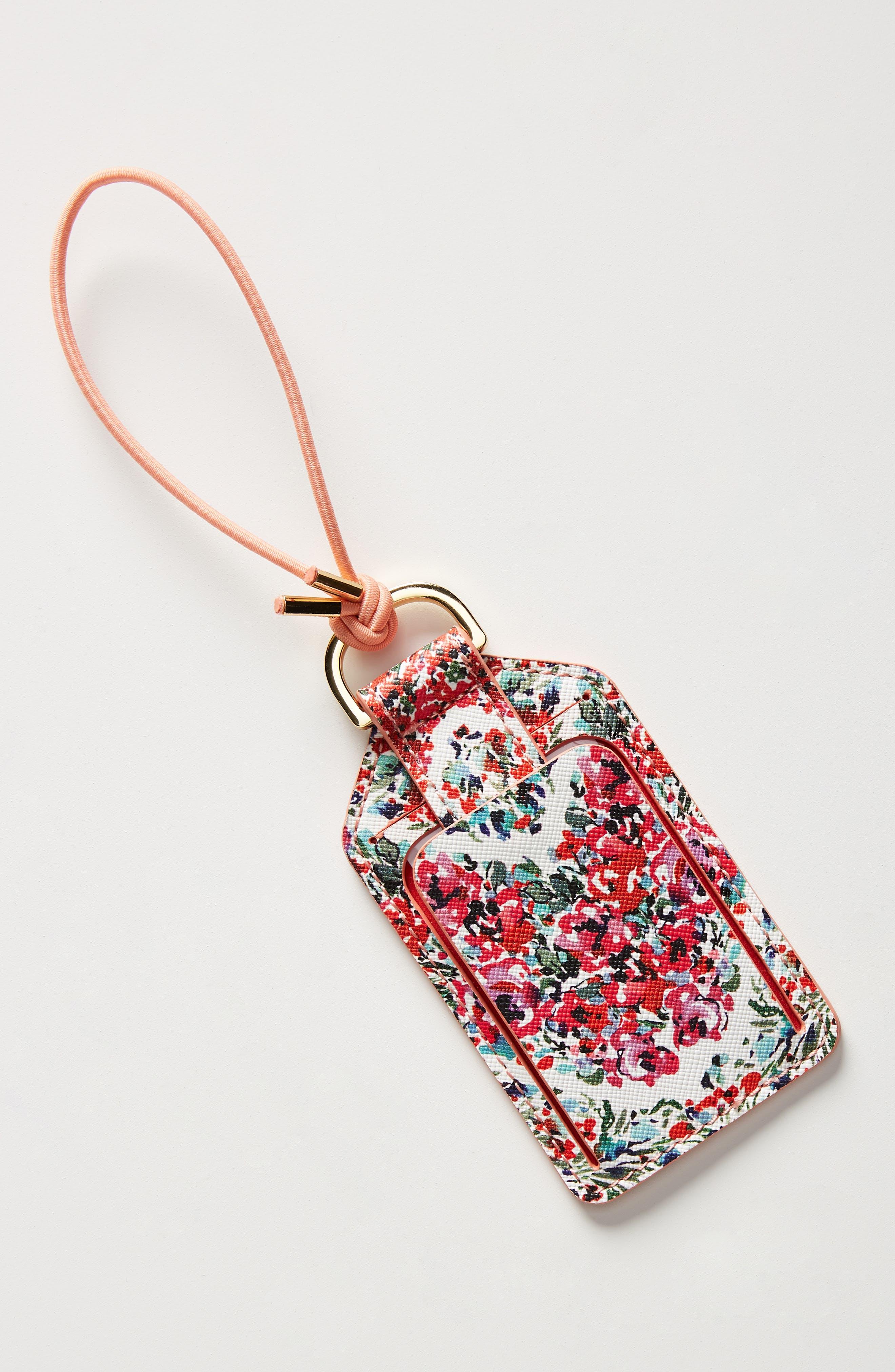 Pippa Luggage Tag, Main, color, MULTI