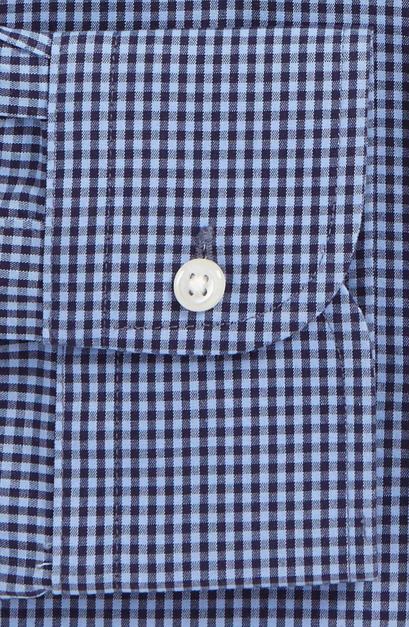 Smartcare Classic Fit Check Dress Shirt,                             Alternate thumbnail 22, color,