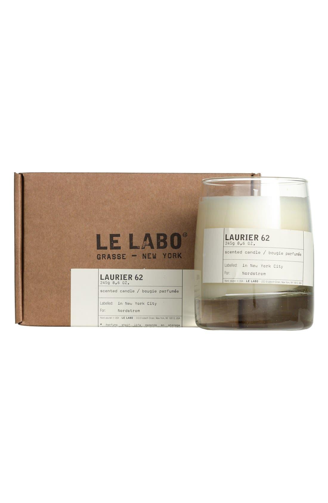 'Laurier 62' Classic Candle,                             Alternate thumbnail 3, color,                             000