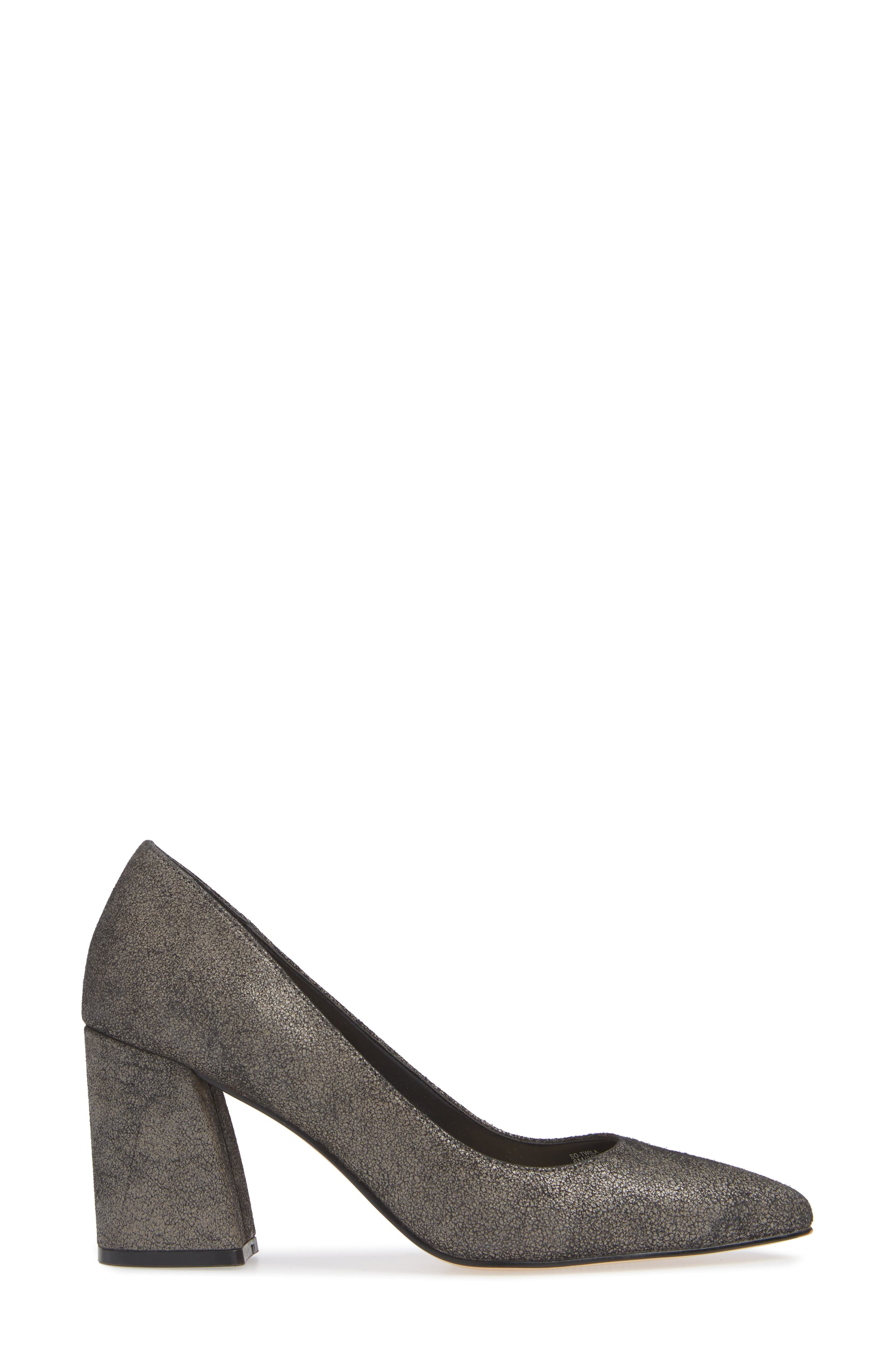 SOLE SOCIETY,                             Twila Pump,                             Alternate thumbnail 3, color,                             DARK CEMENT LEATHER