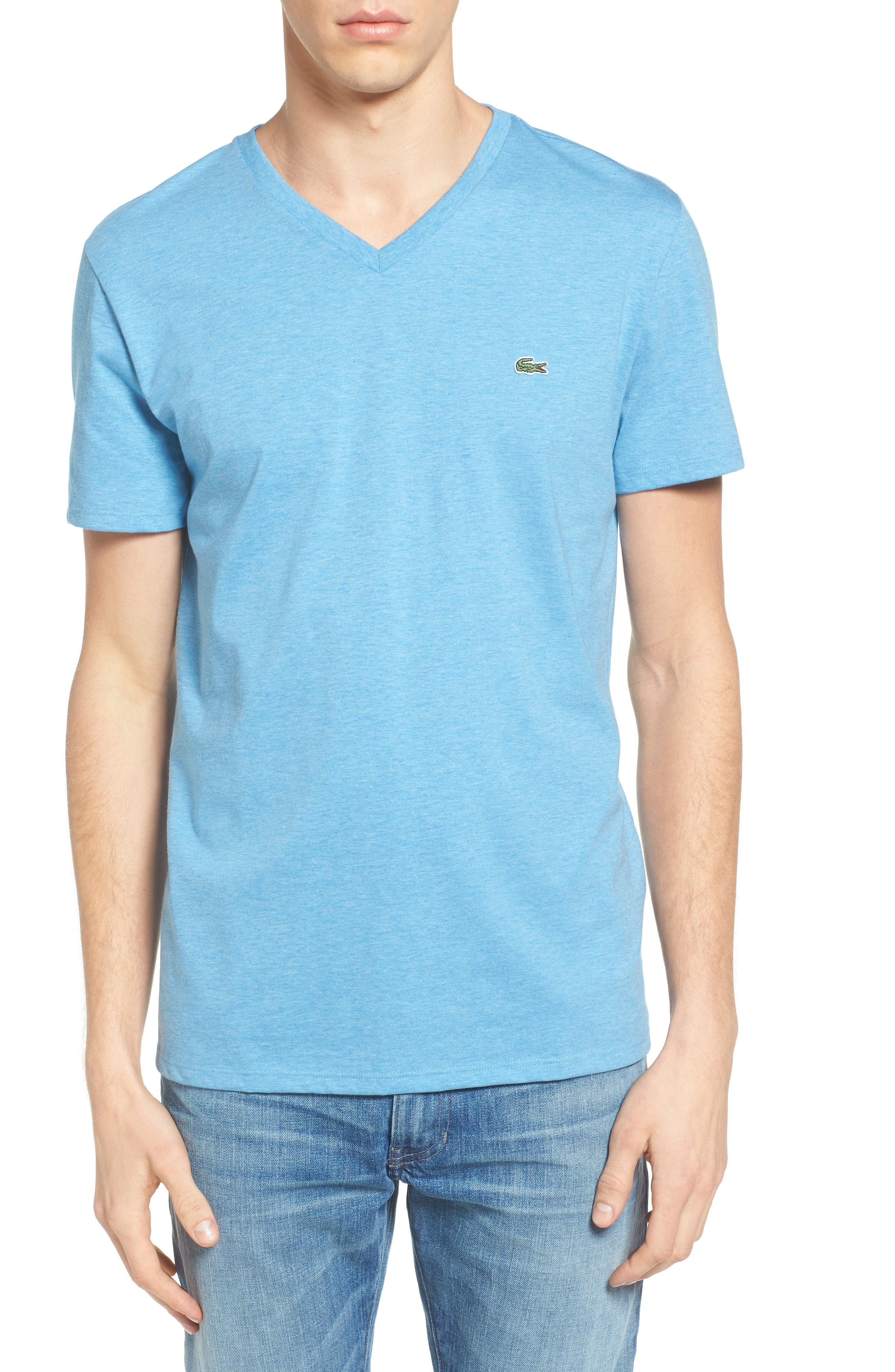 V-Neck T-Shirt,                             Main thumbnail 4, color,