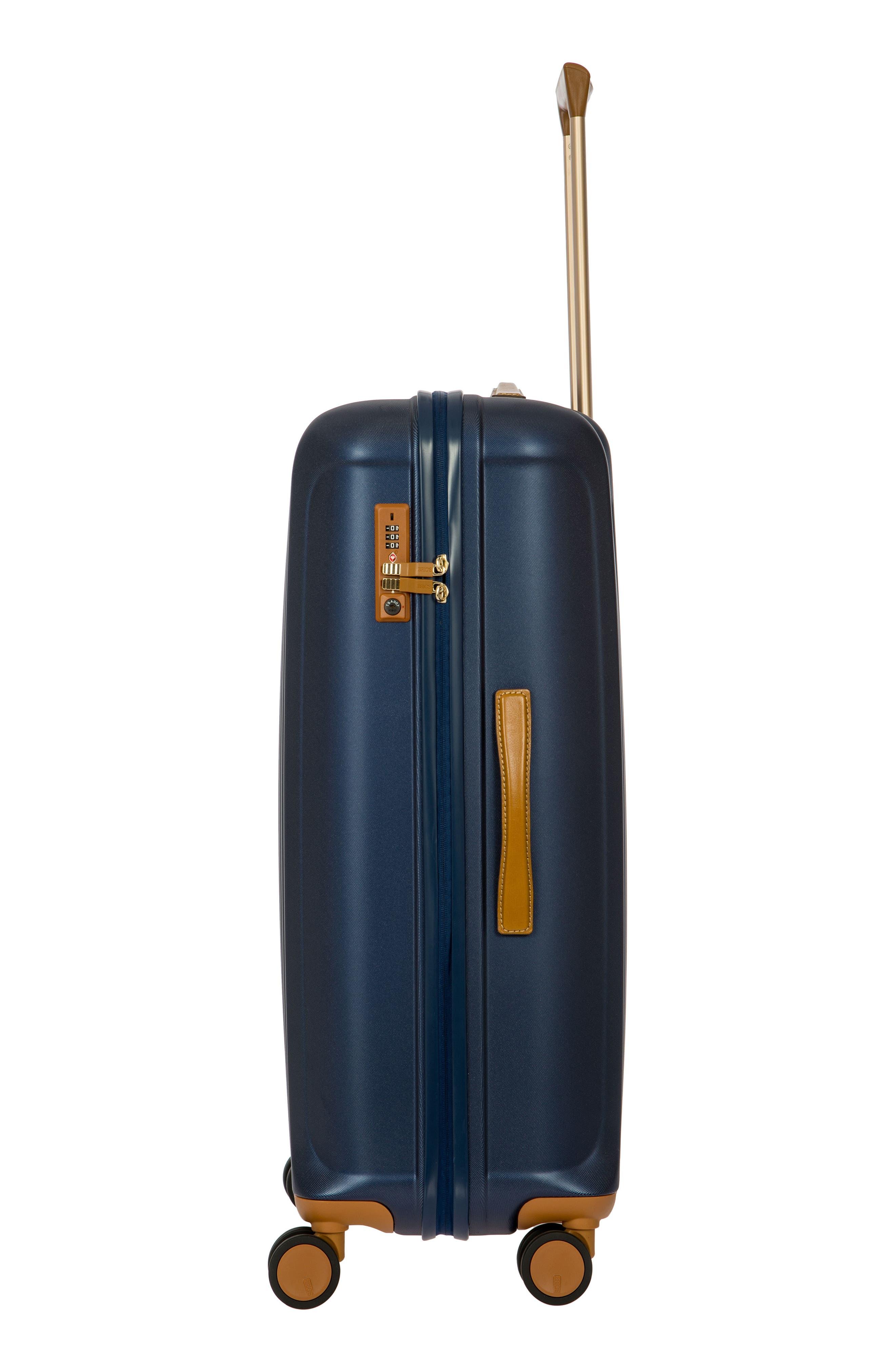 Capri 30-Inch Rolling Suitcase,                             Alternate thumbnail 9, color,                             MATTE BLUE