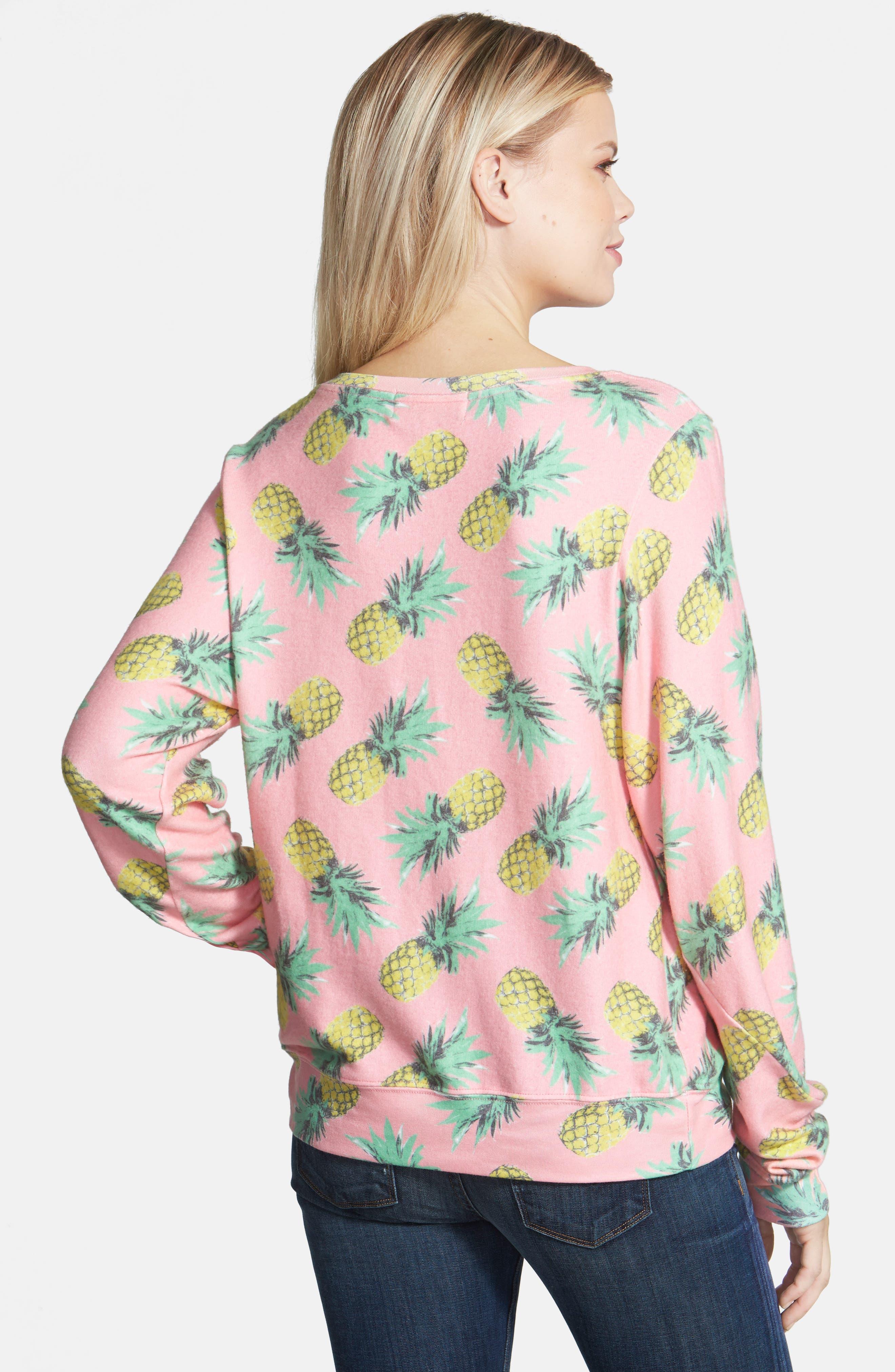 'Pineapple Palace' Sweatshirt,                             Alternate thumbnail 3, color,                             690