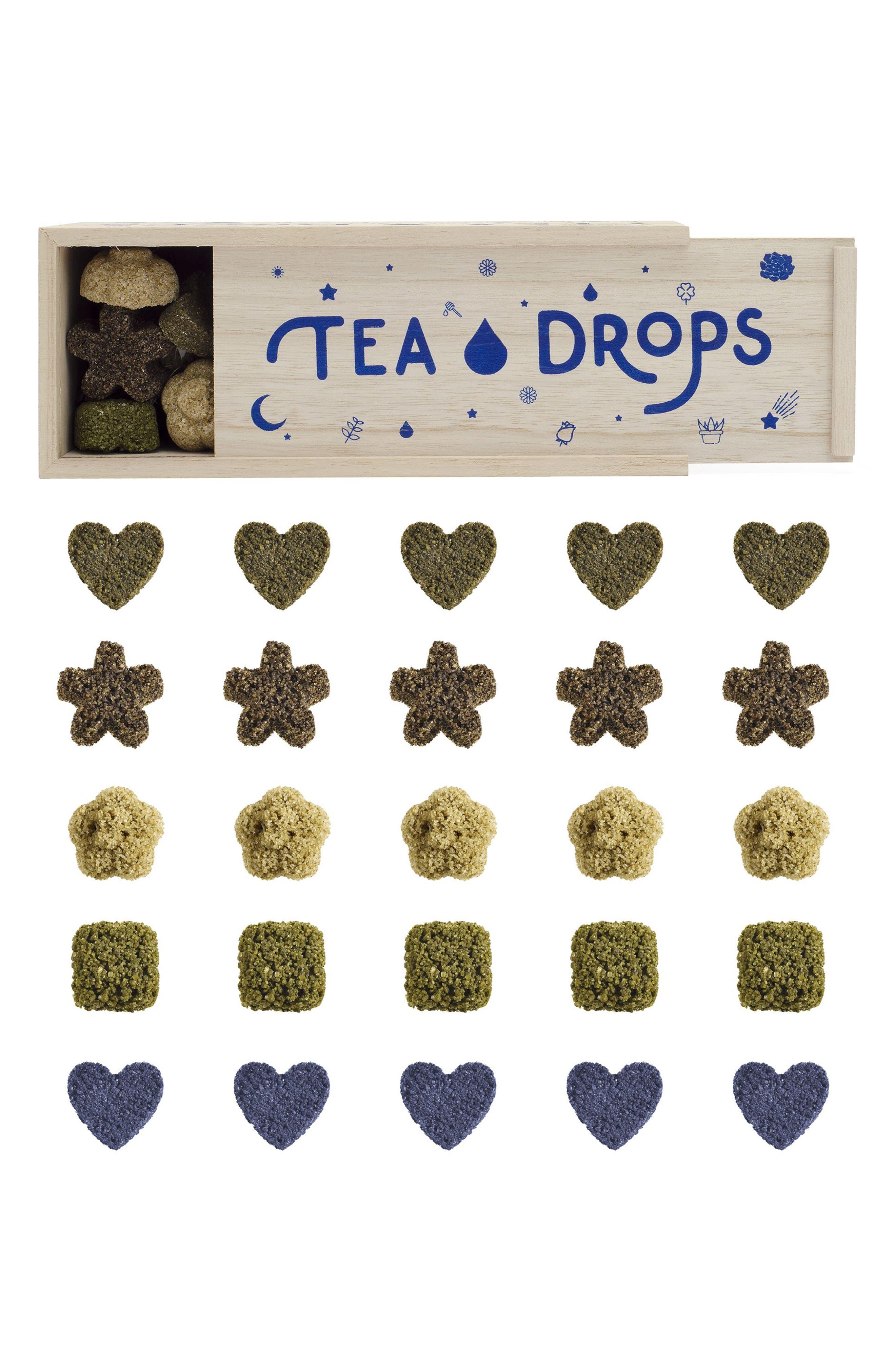 TEA DROPS Large Assortment Box, Main, color, WOOD/ BROWN