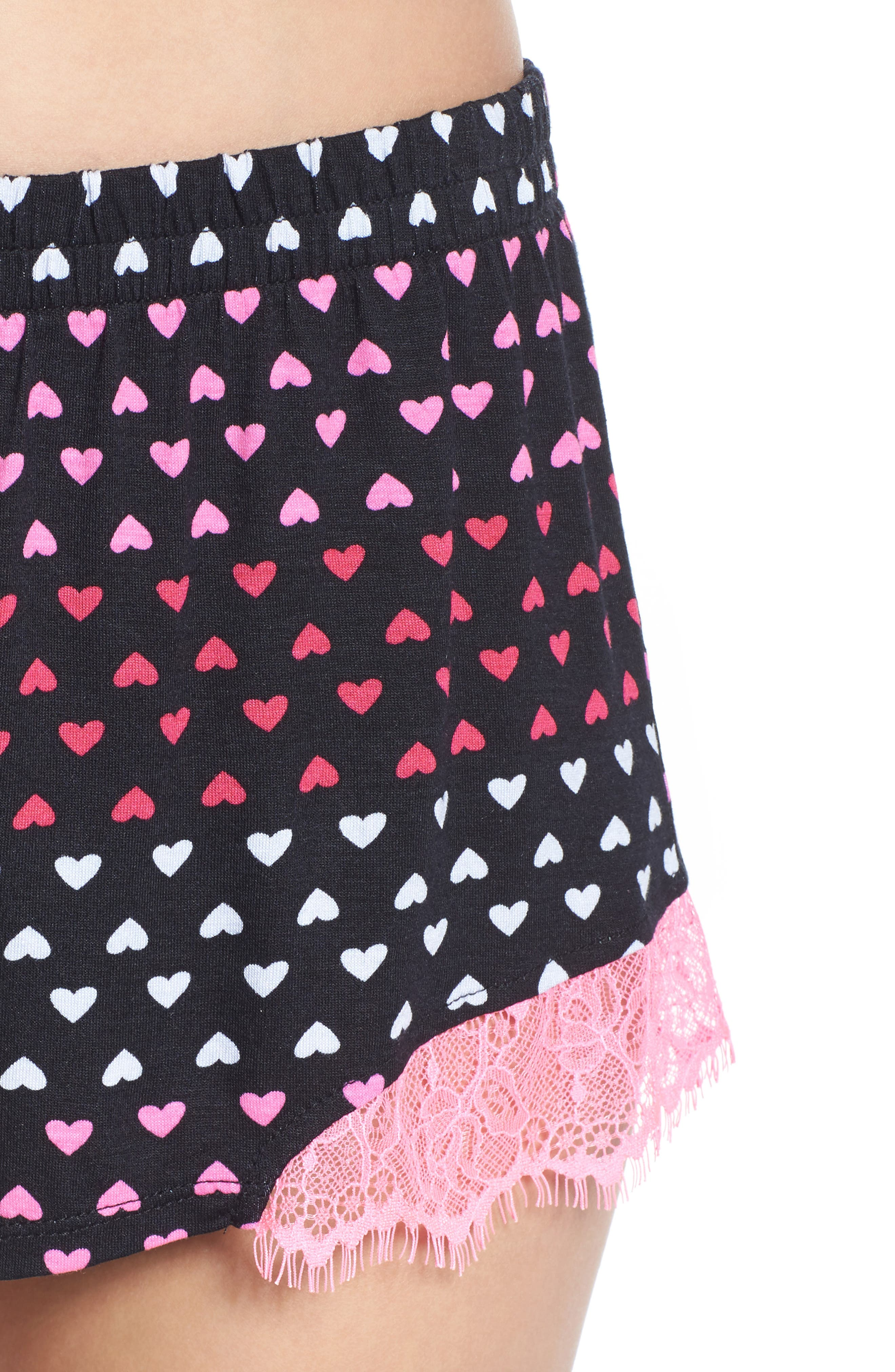 Notch Collar Short Pajamas,                             Alternate thumbnail 12, color,