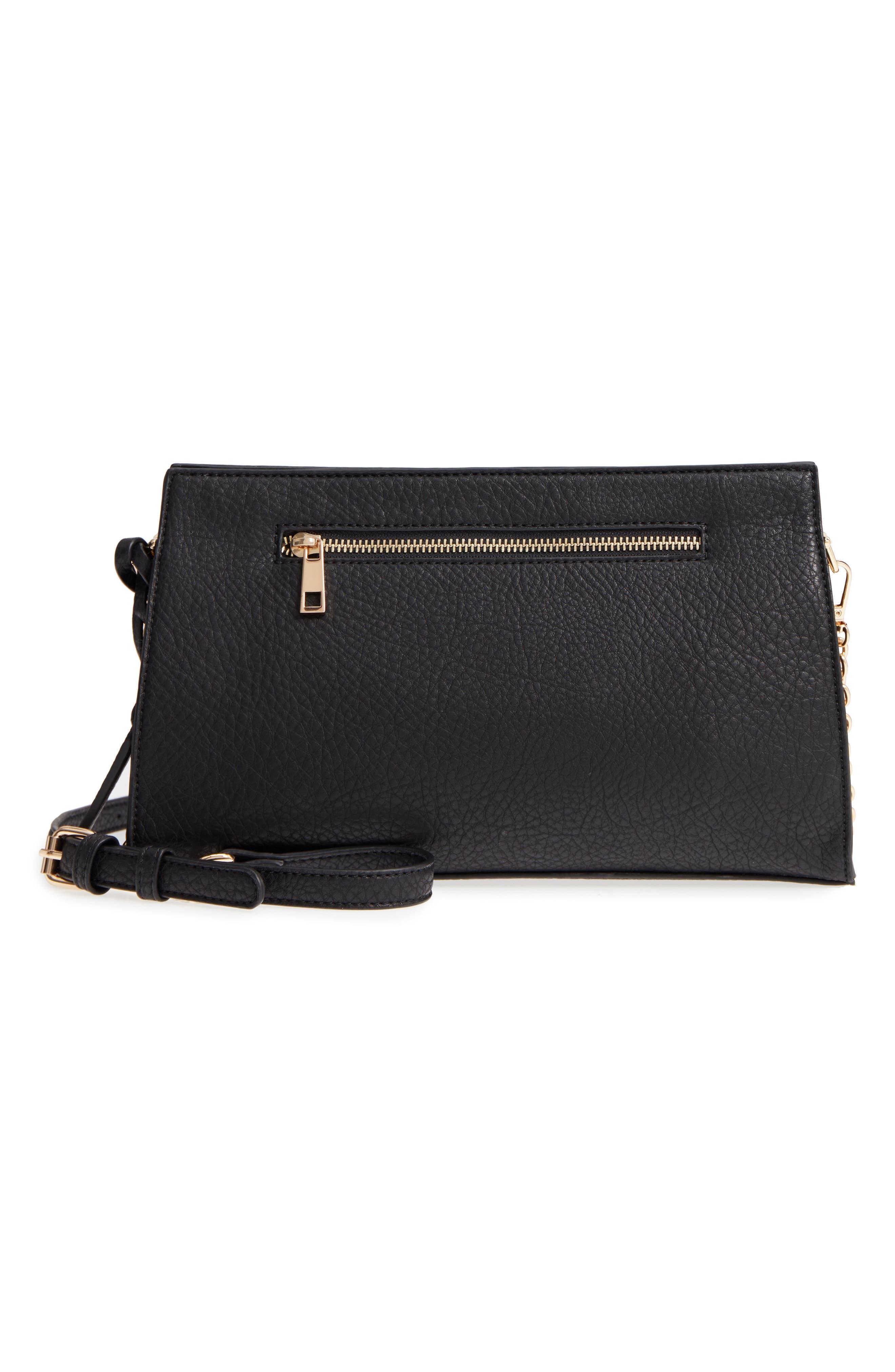 Kiato Chain Strap Crossbody Bag,                         Main,                         color, 001