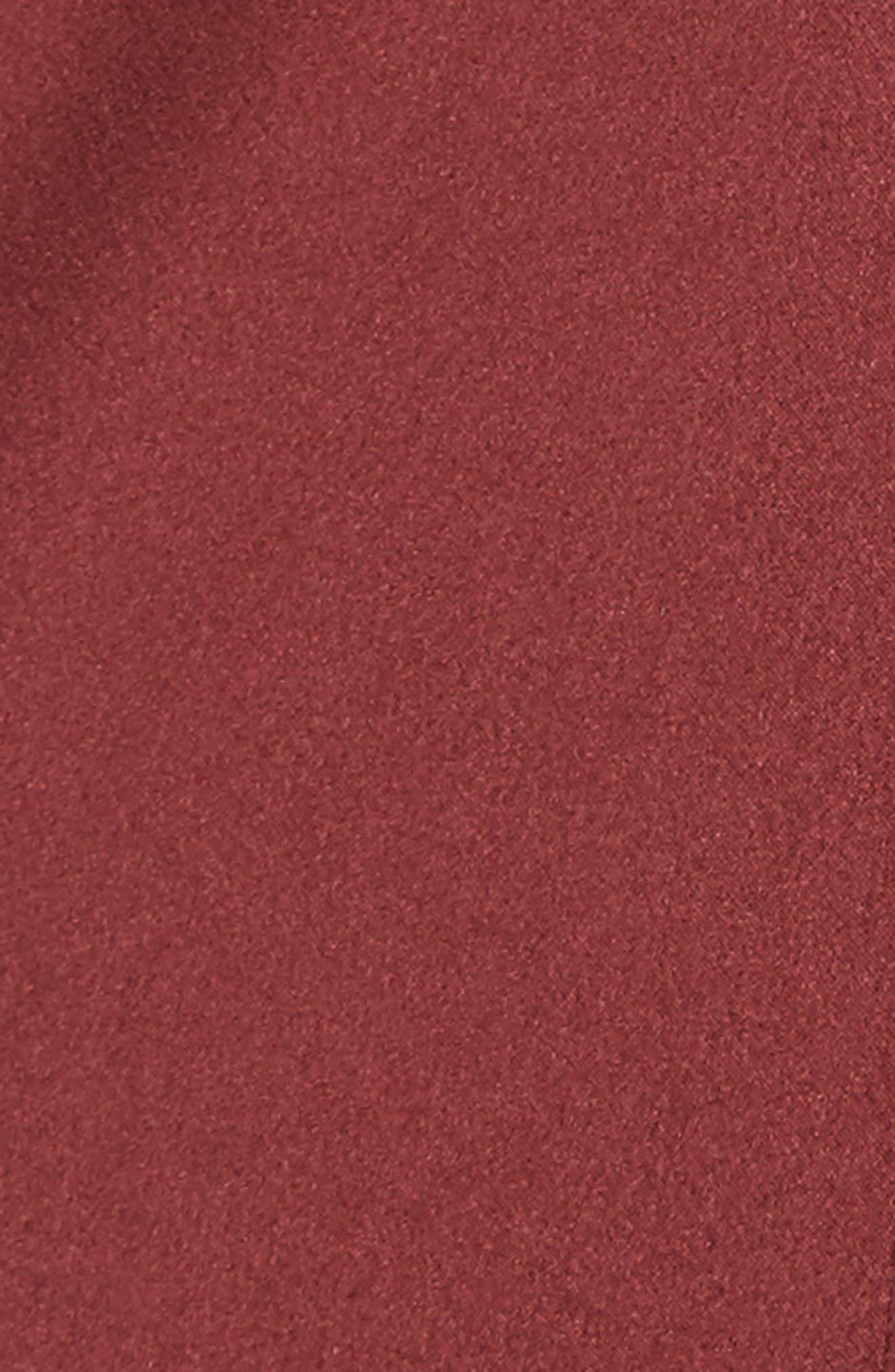 Belted Satin Jacket,                             Alternate thumbnail 6, color,                             601