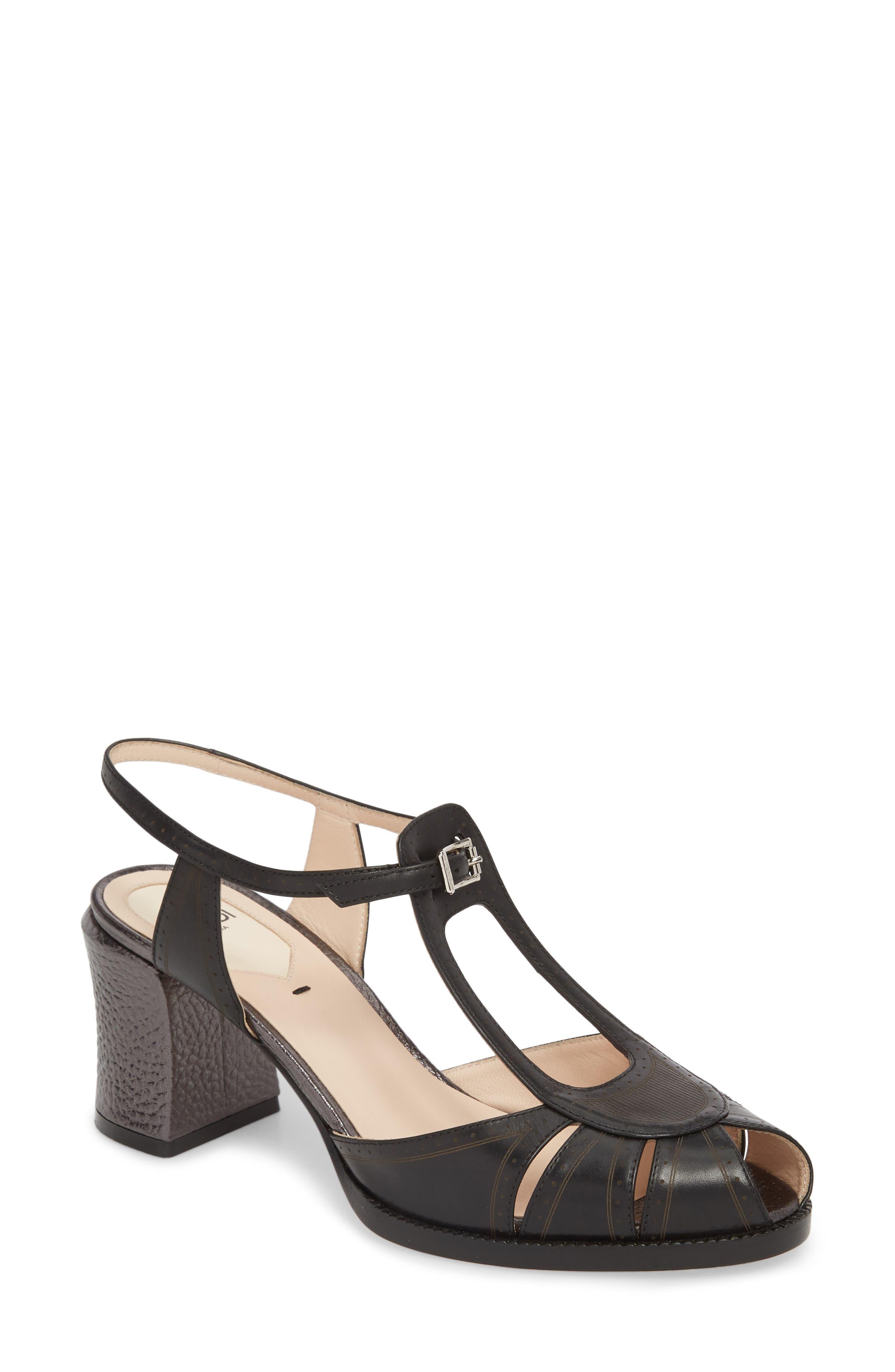 Chameleon Block Heel Sandal,                             Main thumbnail 1, color,                             019