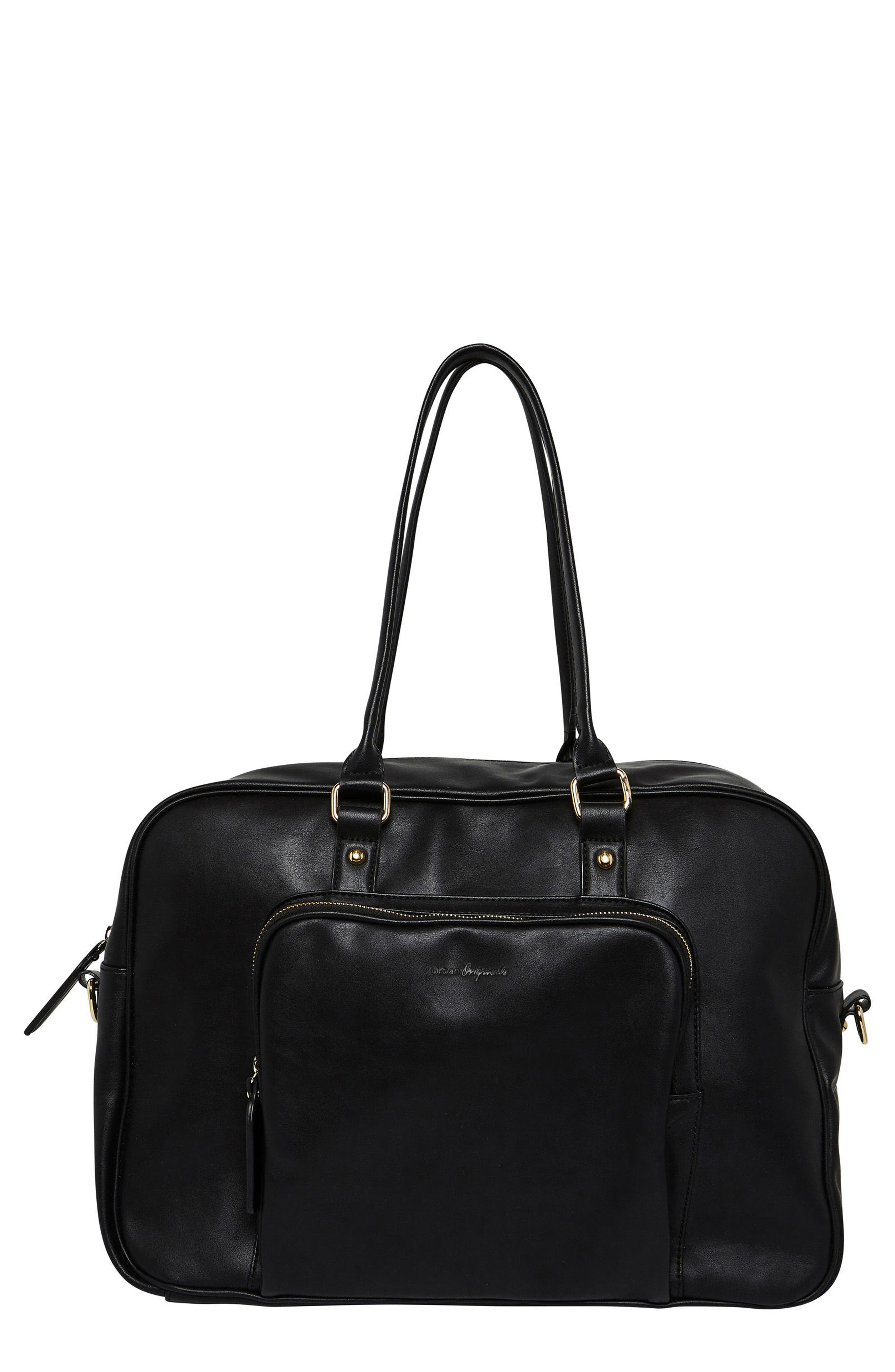 A Million Reasons Vegan Leather Tote,                         Main,                         color, 001