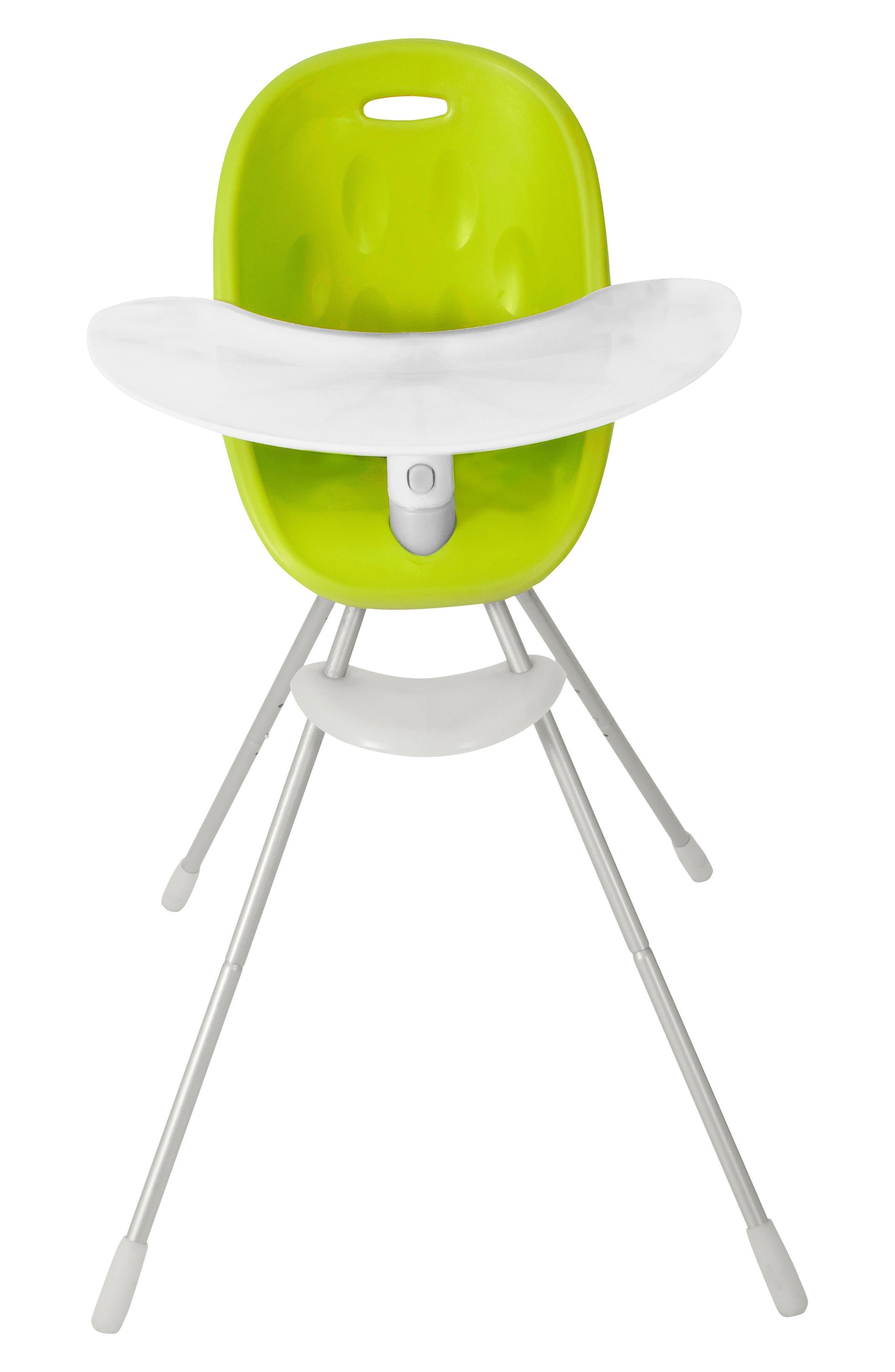 Poppy High Chair,                             Alternate thumbnail 5, color,                             LIME