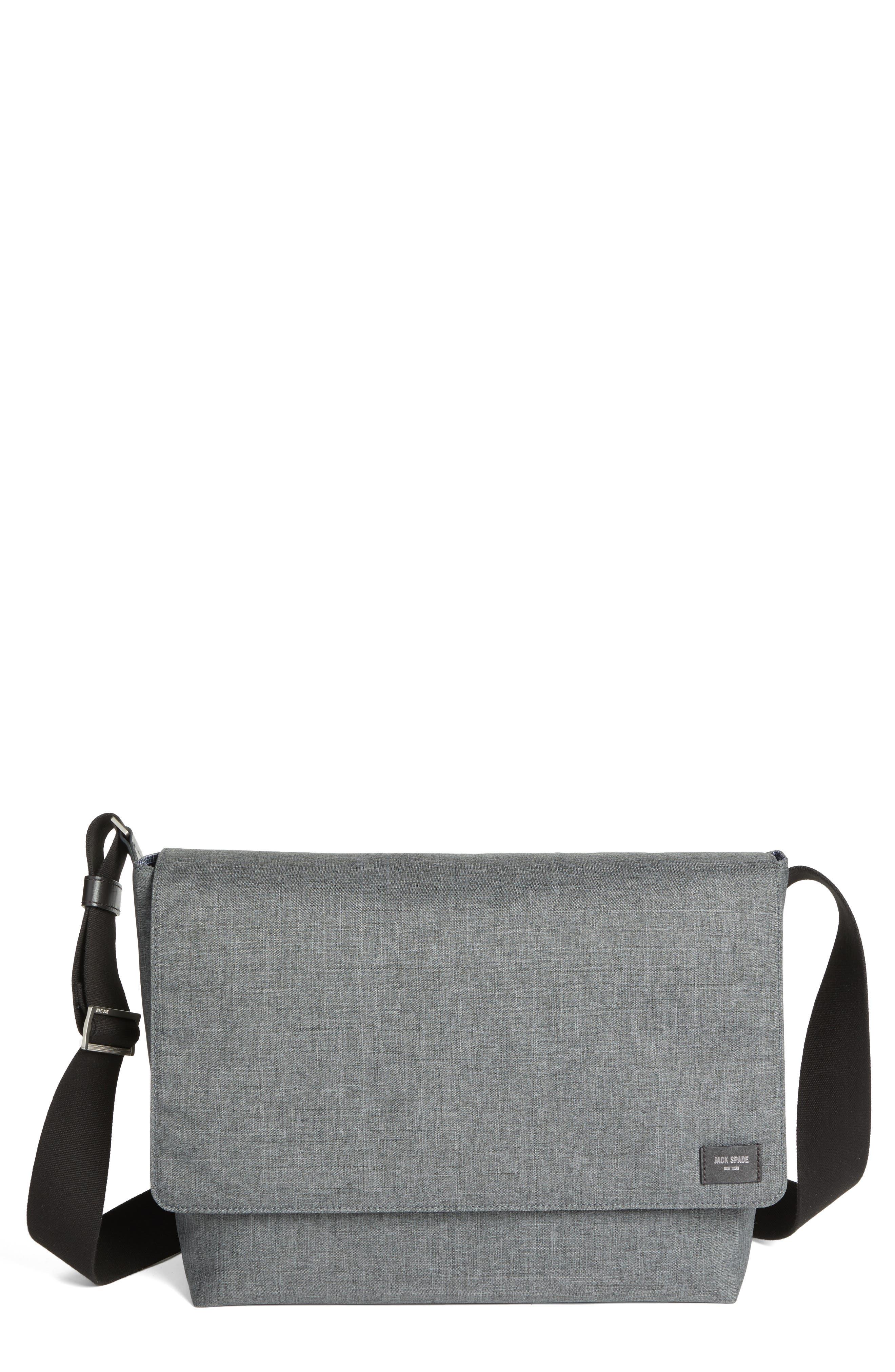 Tech Oxford Messenger Bag,                             Main thumbnail 1, color,                             020