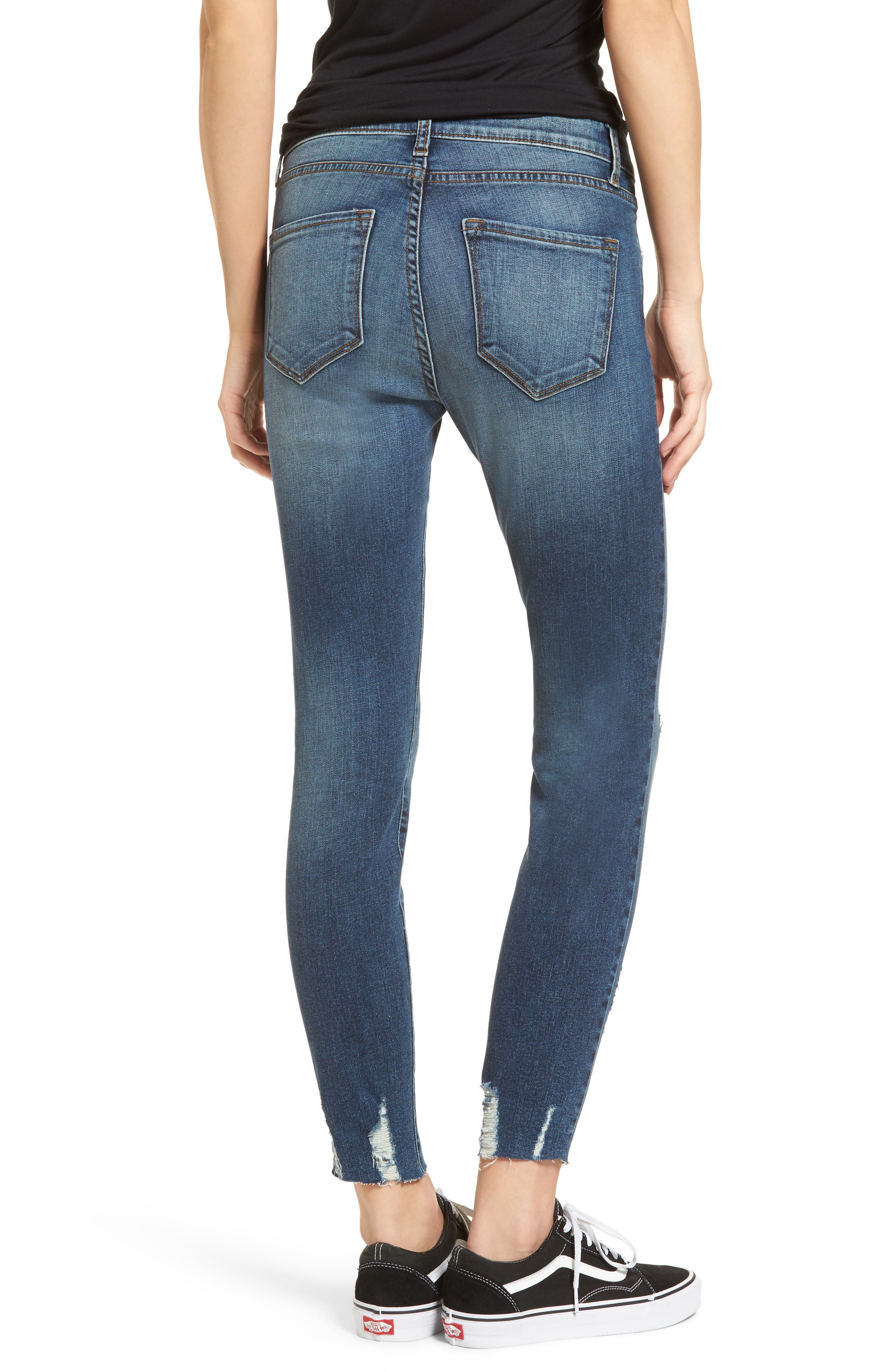 Decon Distressed Skinny Jeans,                             Alternate thumbnail 2, color,
