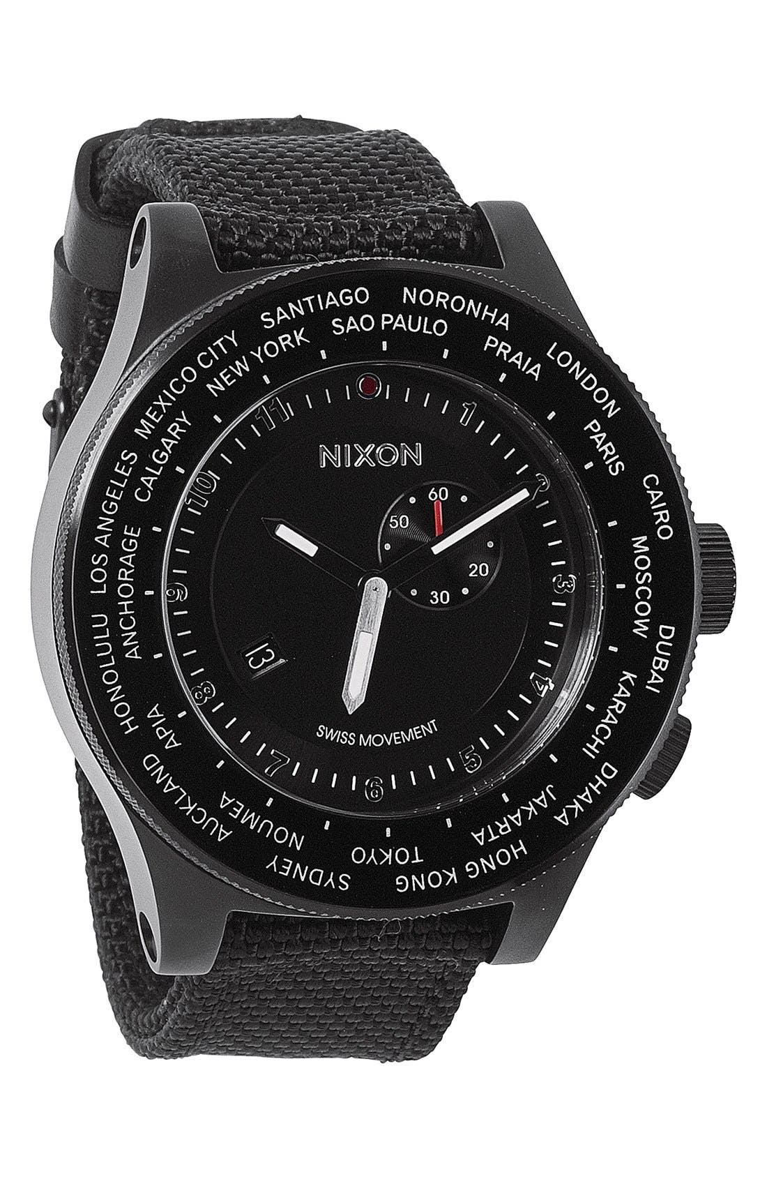 'The Passport' Watch, 49mm, Main, color, 001