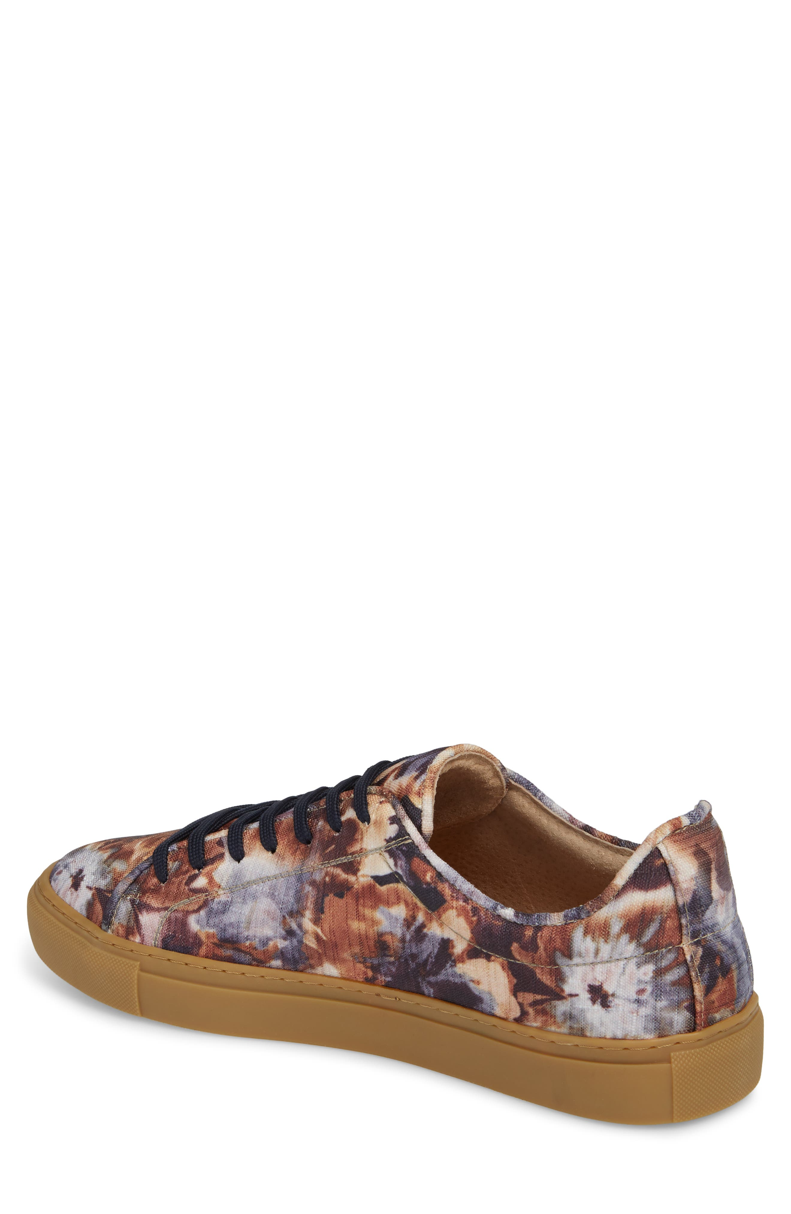 Mason Print Low Top Sneaker,                             Alternate thumbnail 6, color,