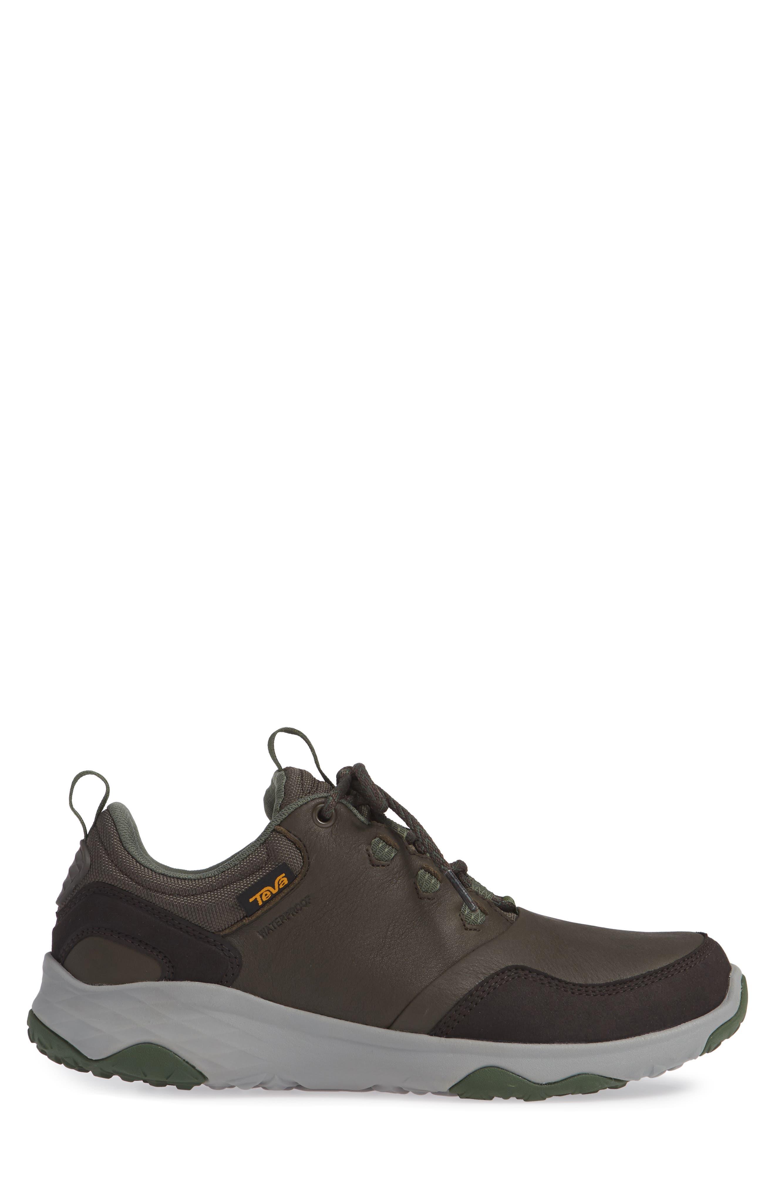 Arrowood Waterproof Sneaker,                             Alternate thumbnail 3, color,                             BLACK OLIVE LEATHER