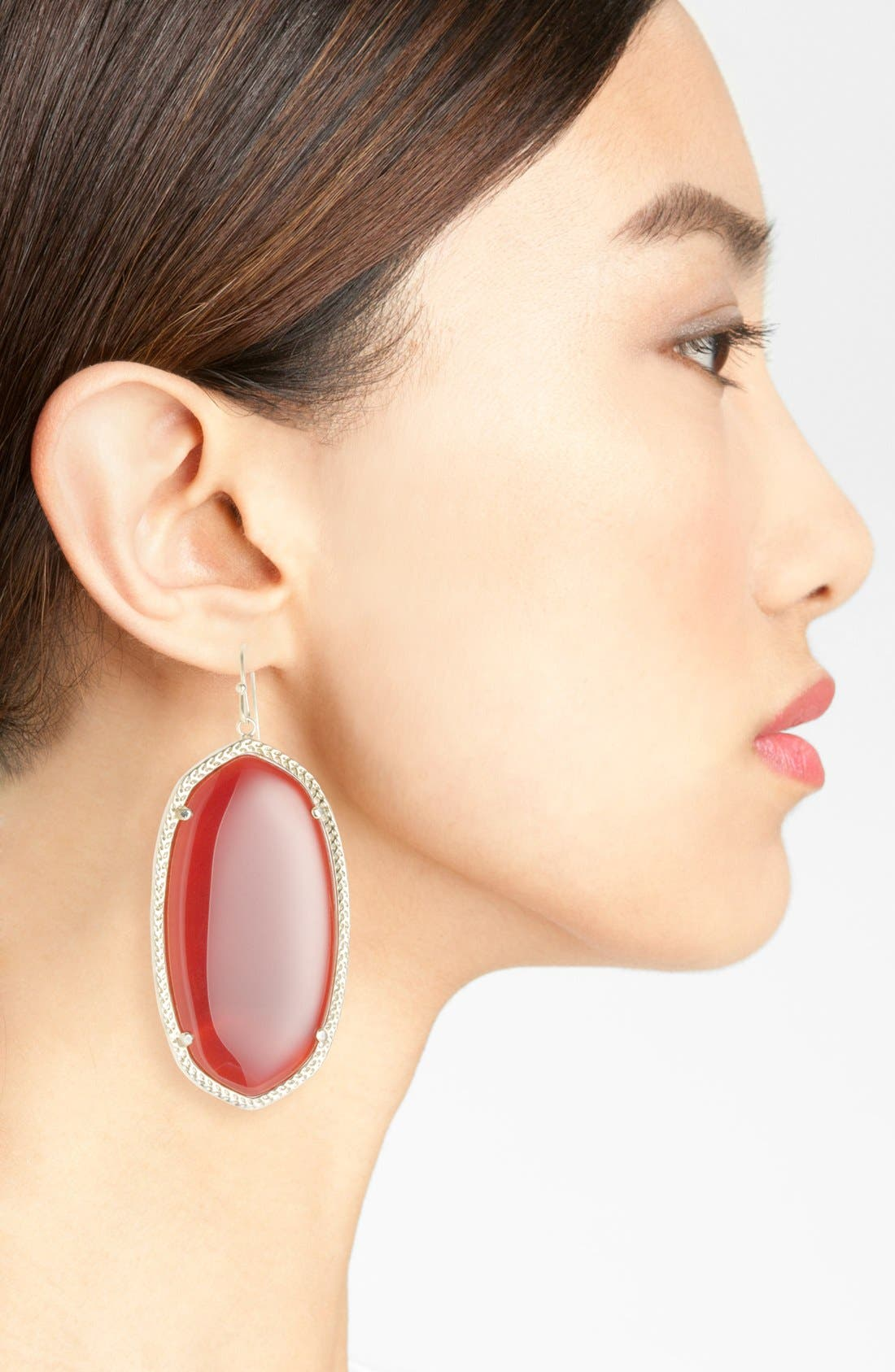 Danielle - Large Oval Statement Earrings,                             Alternate thumbnail 165, color,