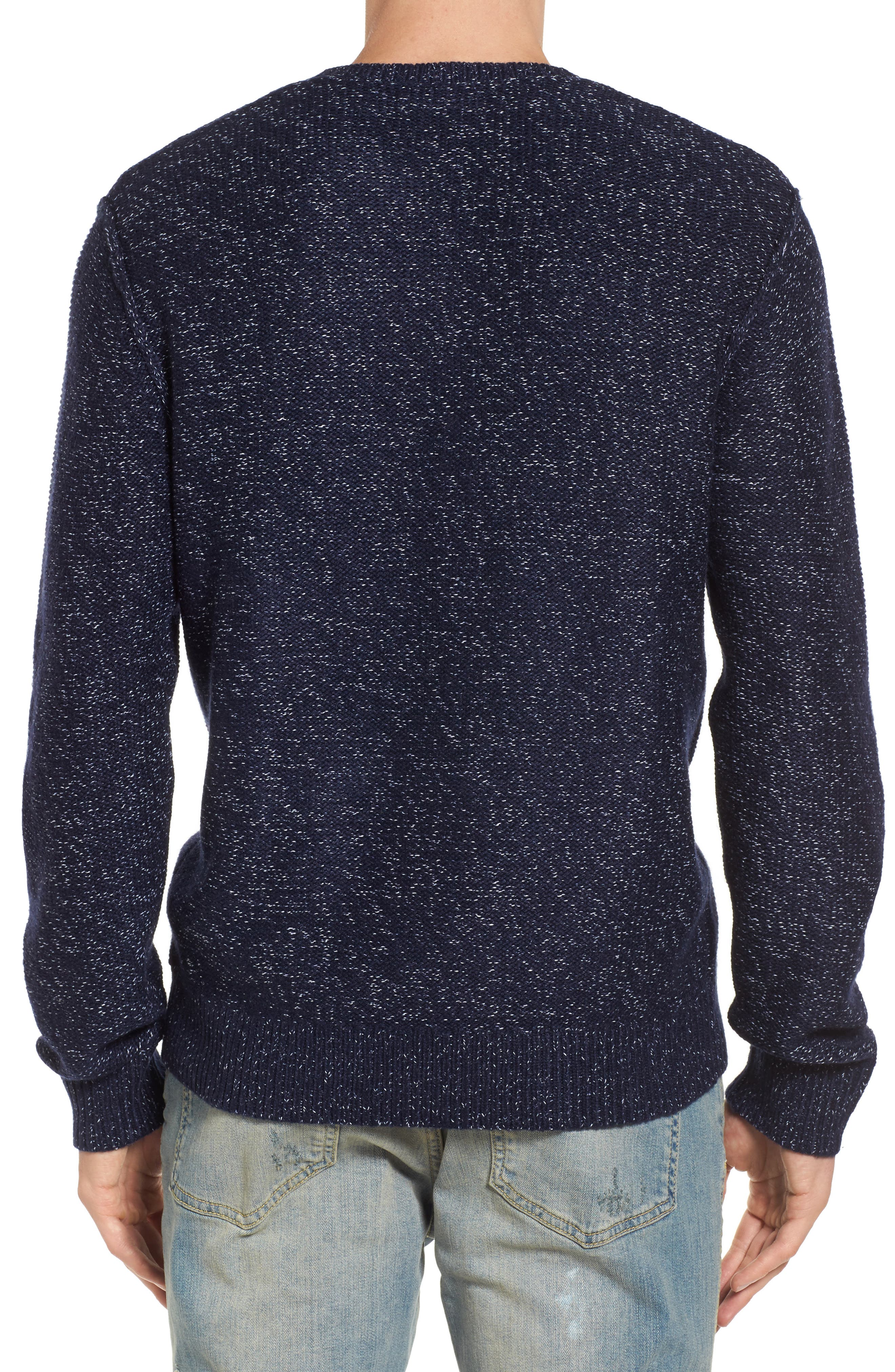 Marled Henley Sweater,                             Alternate thumbnail 2, color,                             410