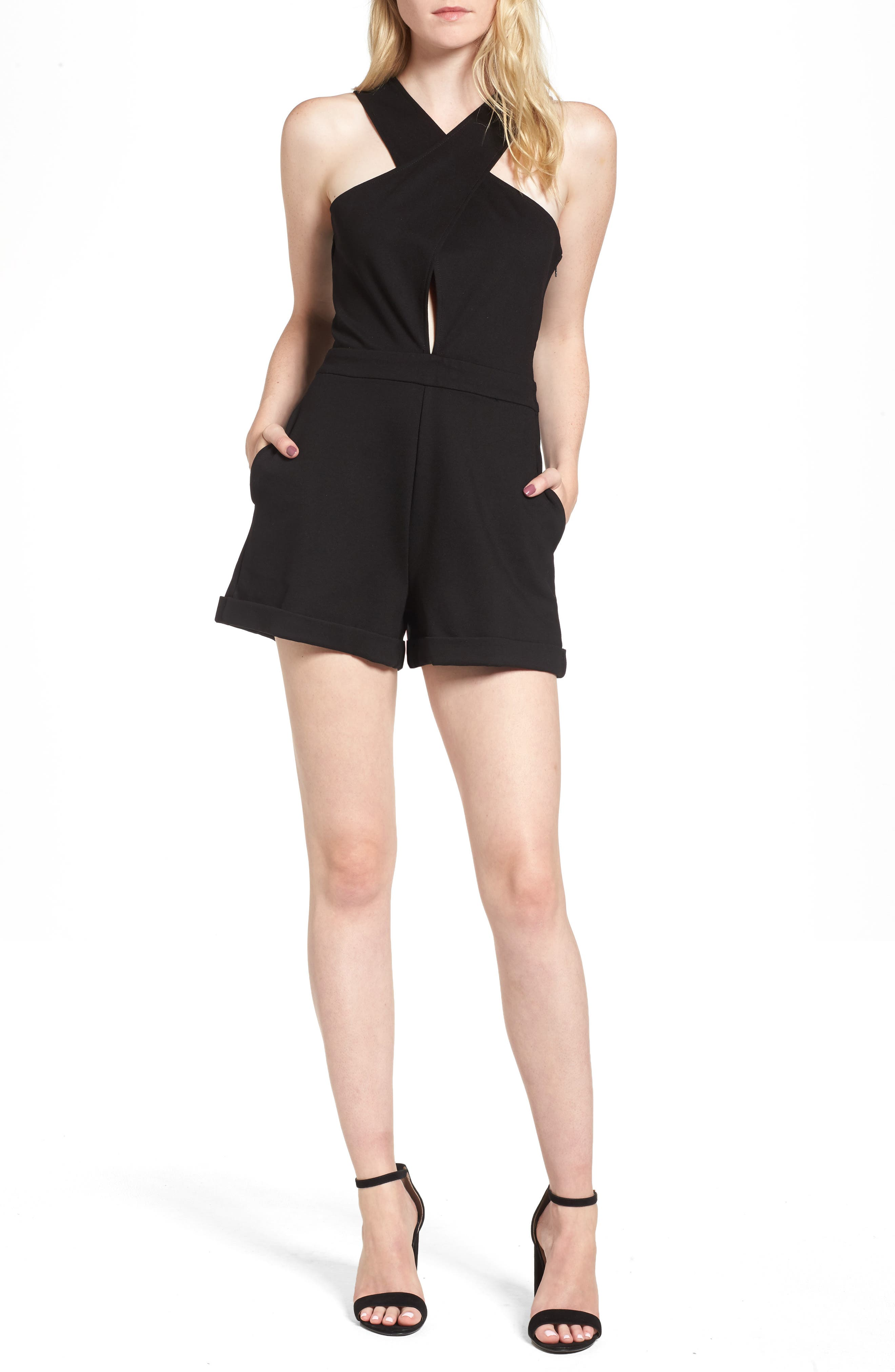 Line & Dont Gabi Romper,                             Main thumbnail 1, color,