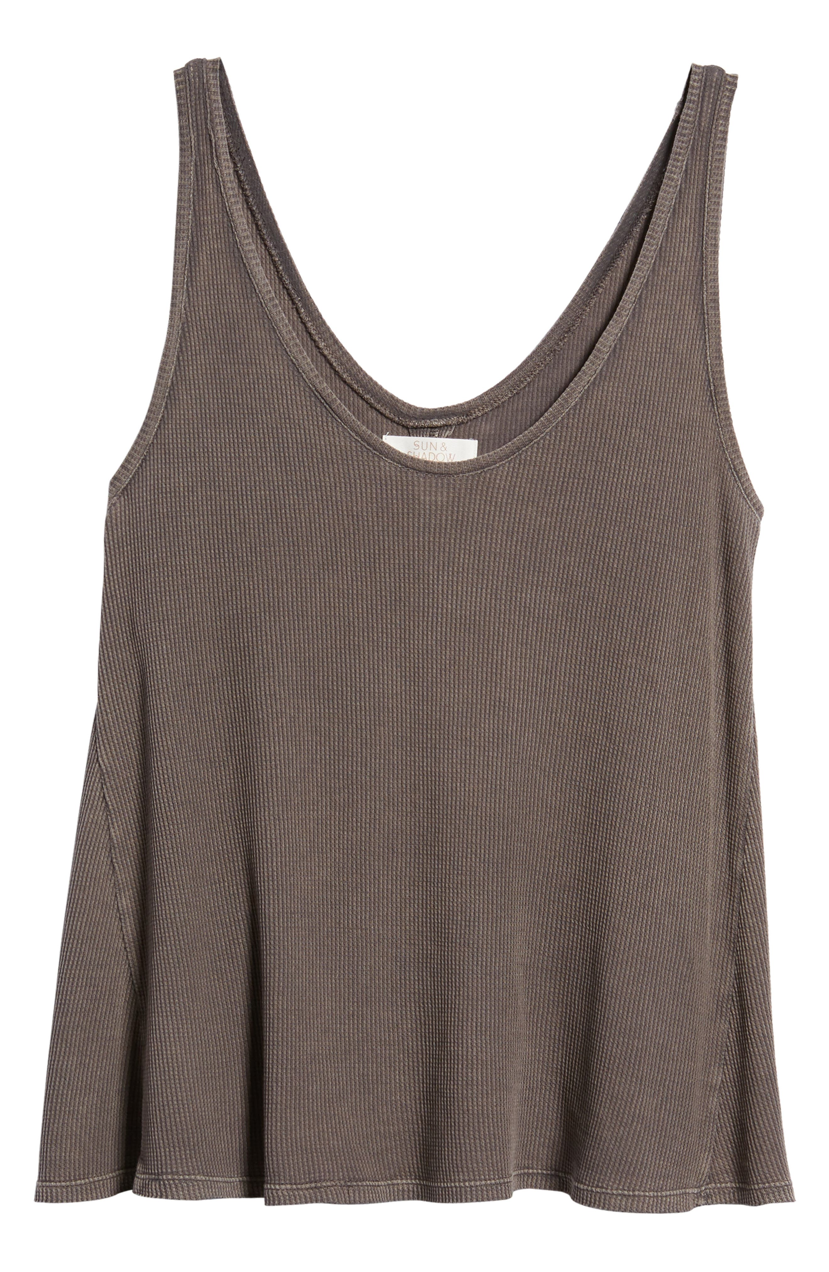 Washed Thermal Tank,                             Alternate thumbnail 11, color,