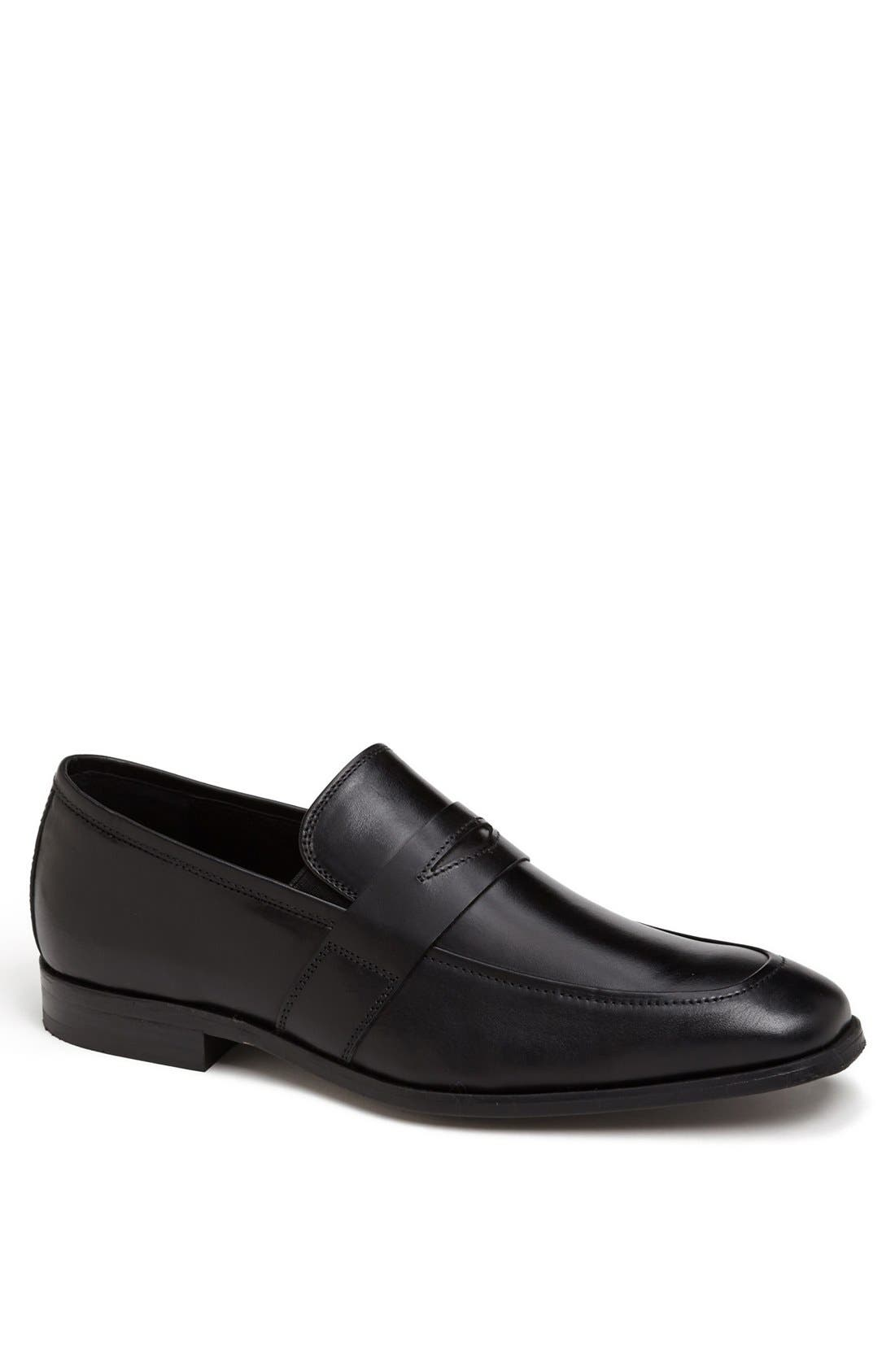 'Jet' Penny Loafer,                         Main,                         color, 001