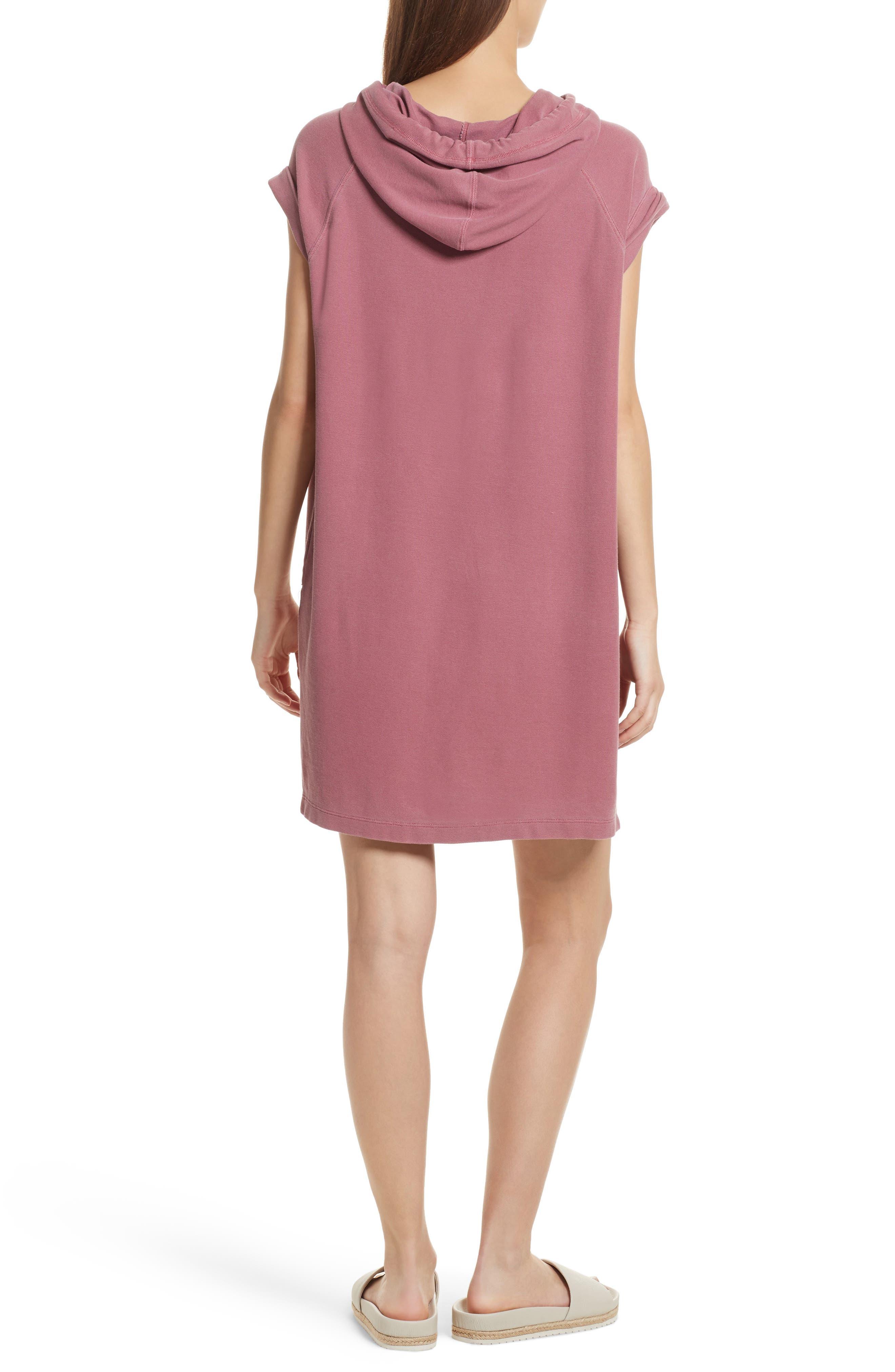 Piqué Hooded Dress,                             Alternate thumbnail 2, color,                             610