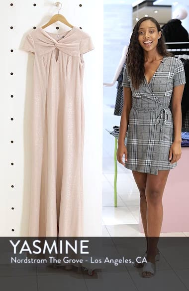 Metallic Knit Gown, sales video thumbnail