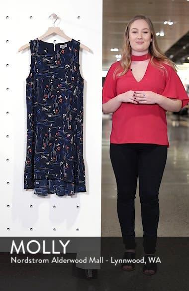 Zipper Back Ruffle Dress, sales video thumbnail