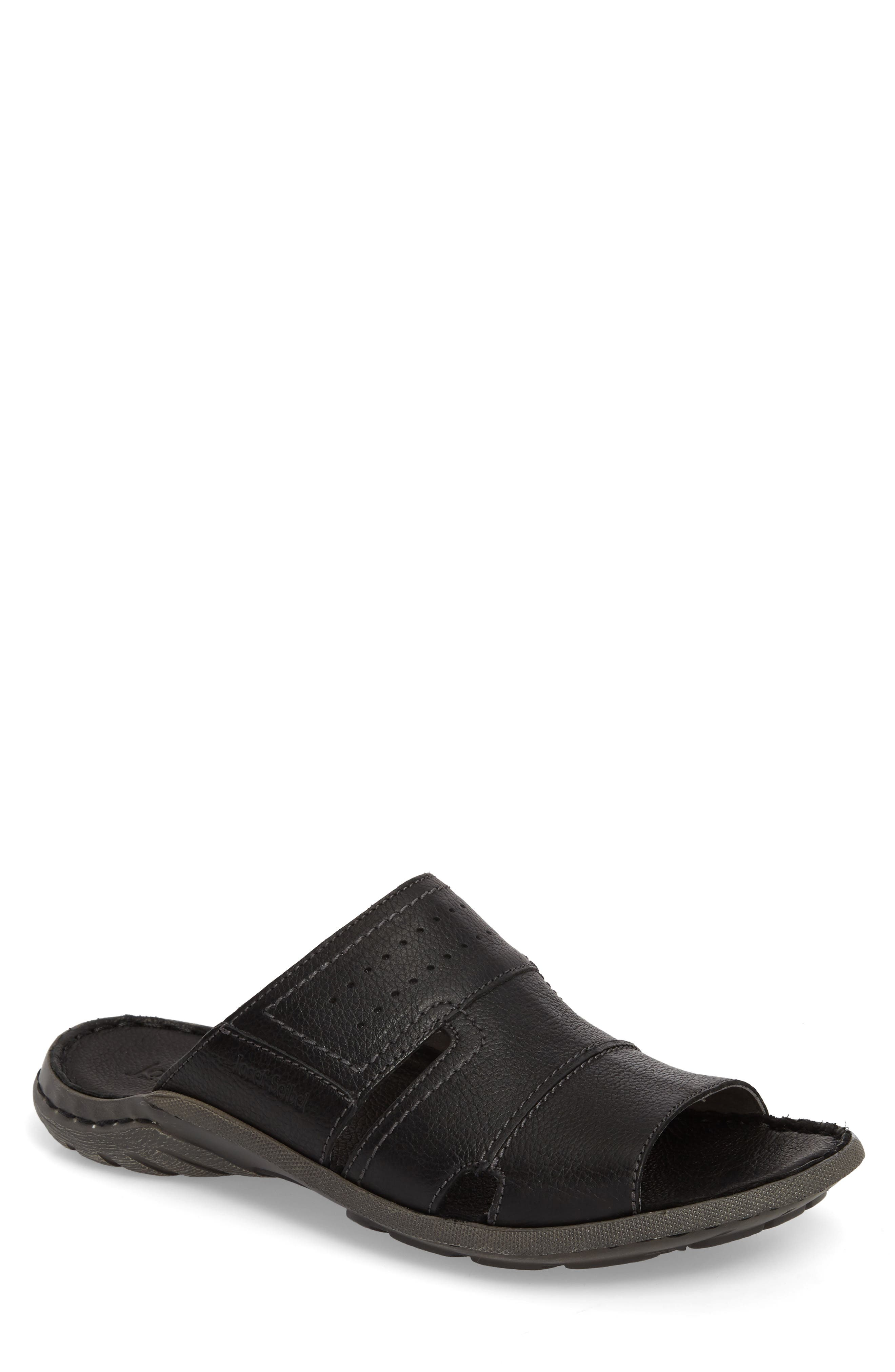 Logan Slide Sandal,                             Main thumbnail 1, color,                             004
